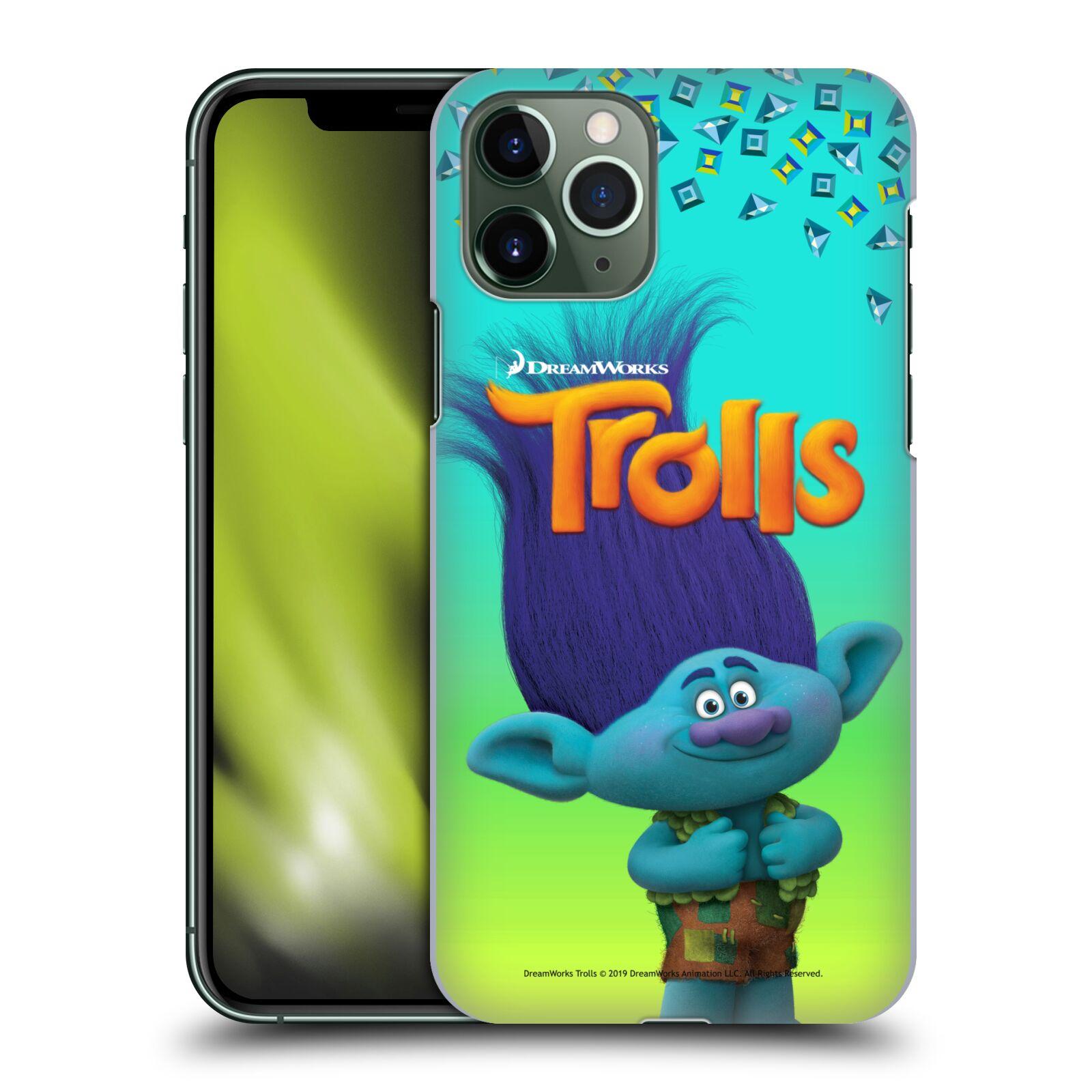 Pouzdro na mobil Apple Iphone 11 PRO - HEAD CASE - Pohádka - Trollové skřítek Branch