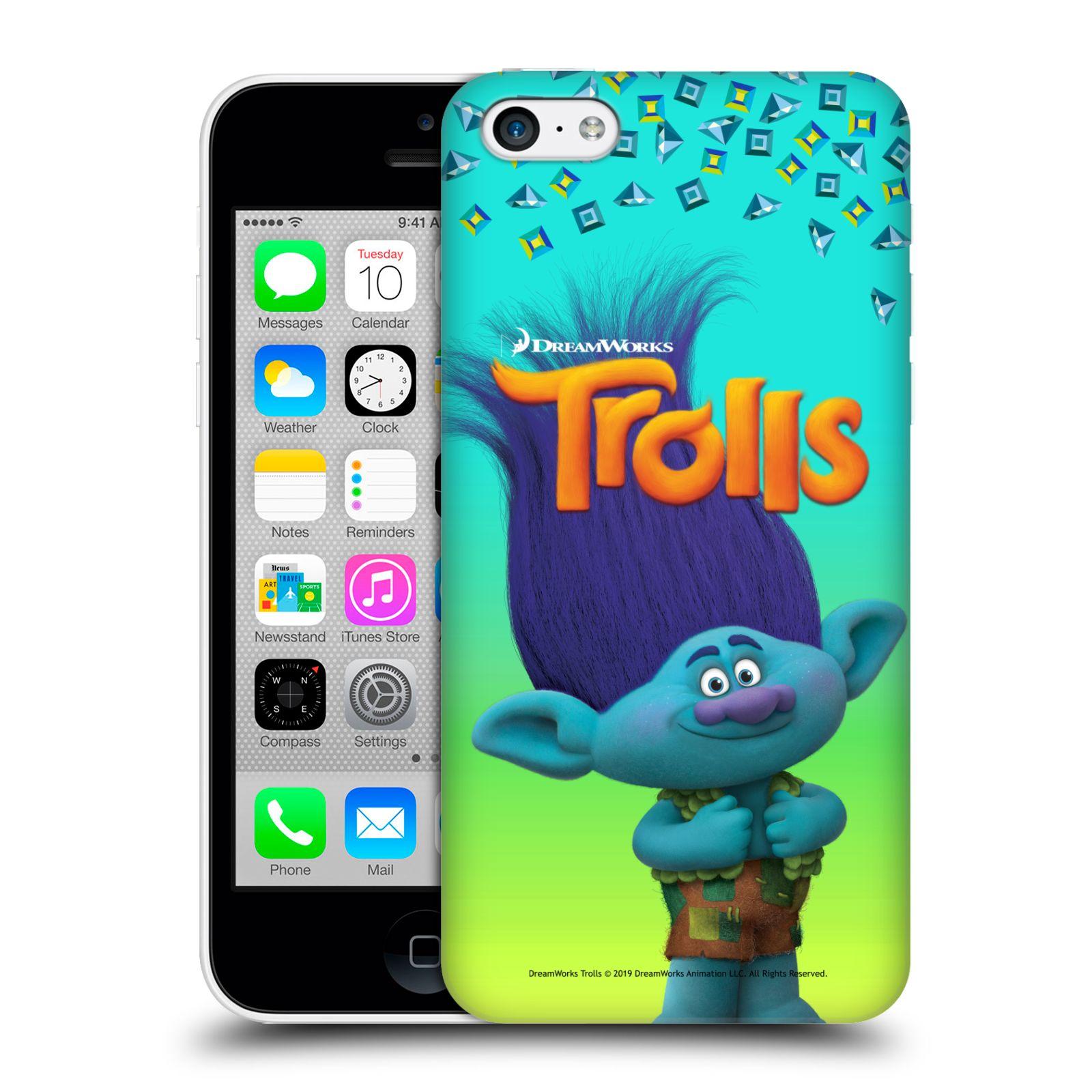 Pouzdro na mobil Apple Iphone 5C - HEAD CASE - Pohádka - Trollové skřítek Branch