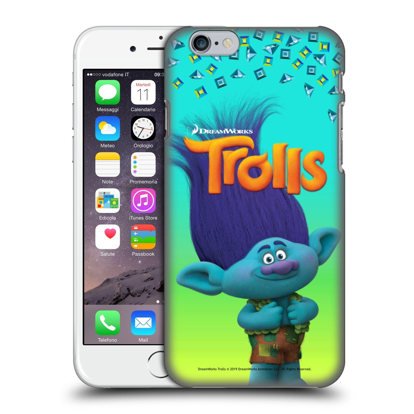 Pouzdro na mobil Apple Iphone 6/6S - HEAD CASE - Pohádka - Trollové skřítek Branch