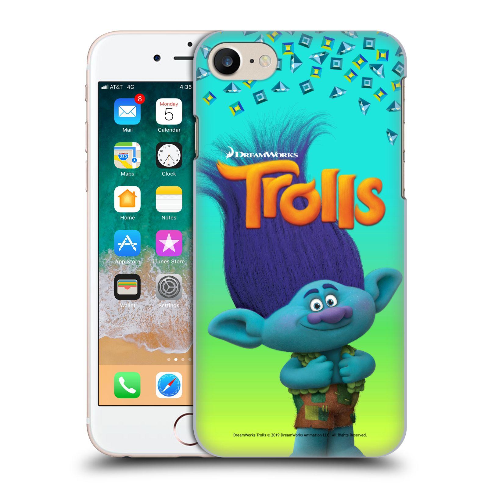 Pouzdro na mobil Apple Iphone 7/8 - HEAD CASE - Pohádka - Trollové skřítek Branch