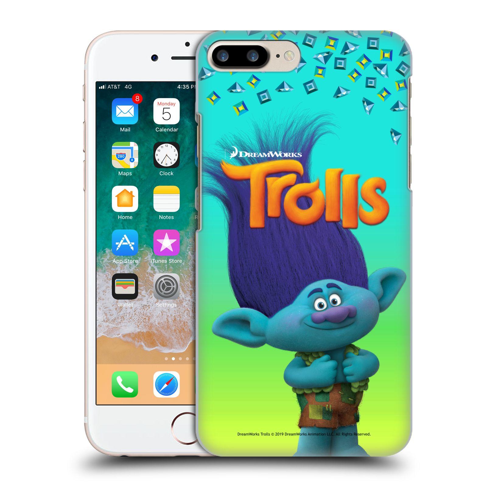 Pouzdro na mobil Apple Iphone 7/8 PLUS - HEAD CASE - Pohádka - Trollové skřítek Branch