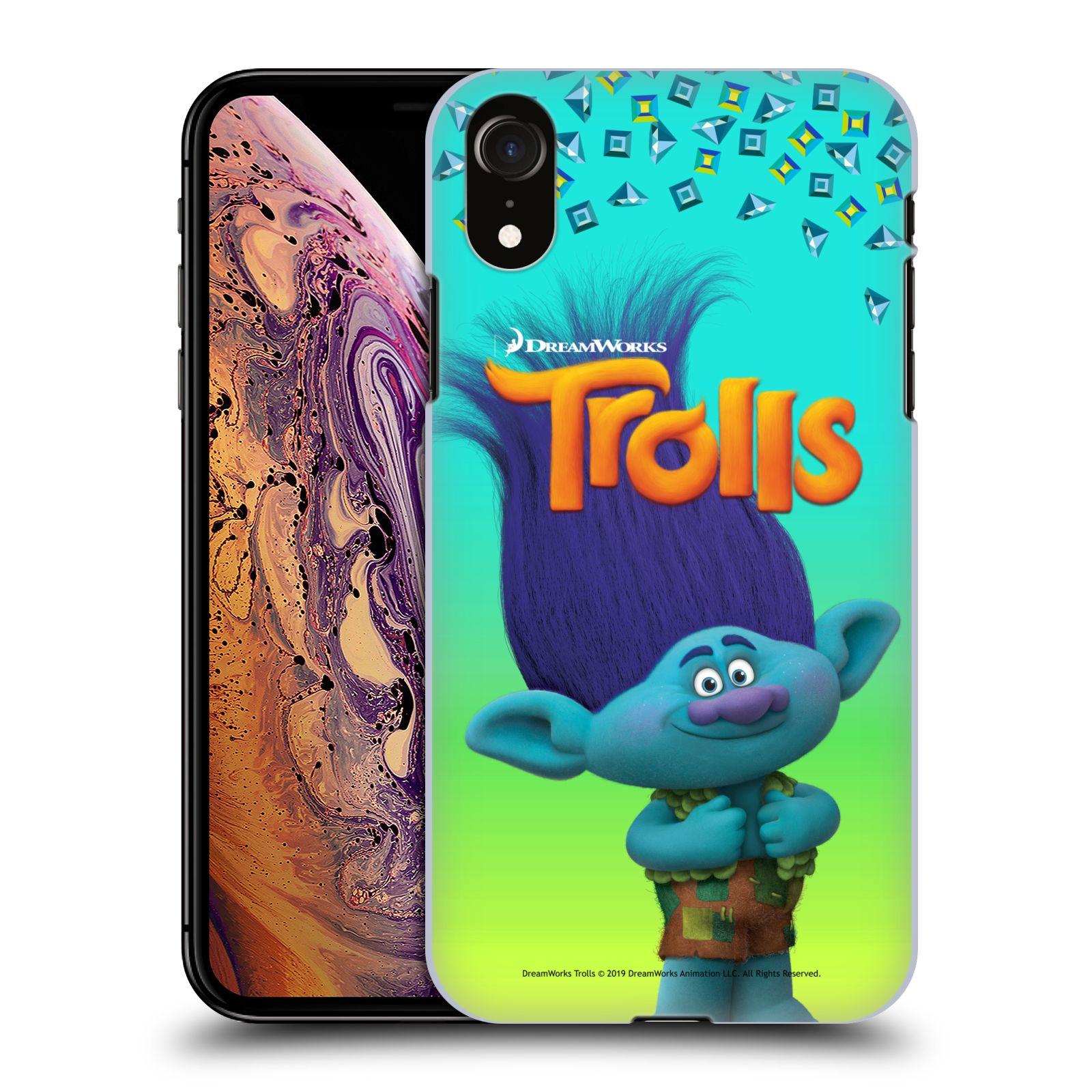 Pouzdro na mobil Apple Iphone XR - HEAD CASE - Pohádka - Trollové skřítek Branch