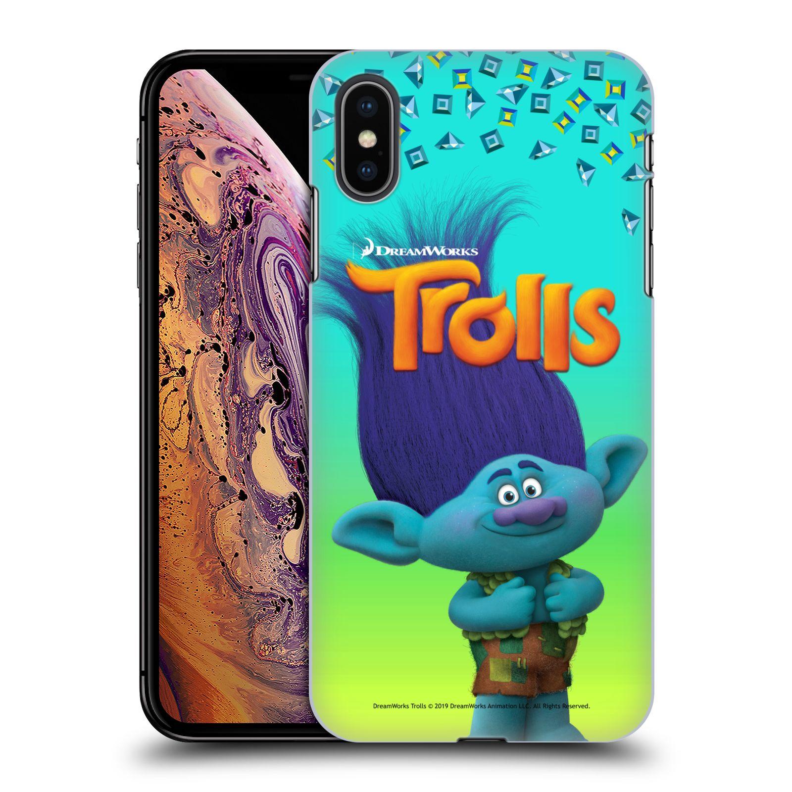 Pouzdro na mobil Apple Iphone XS MAX - HEAD CASE - Pohádka - Trollové skřítek Branch