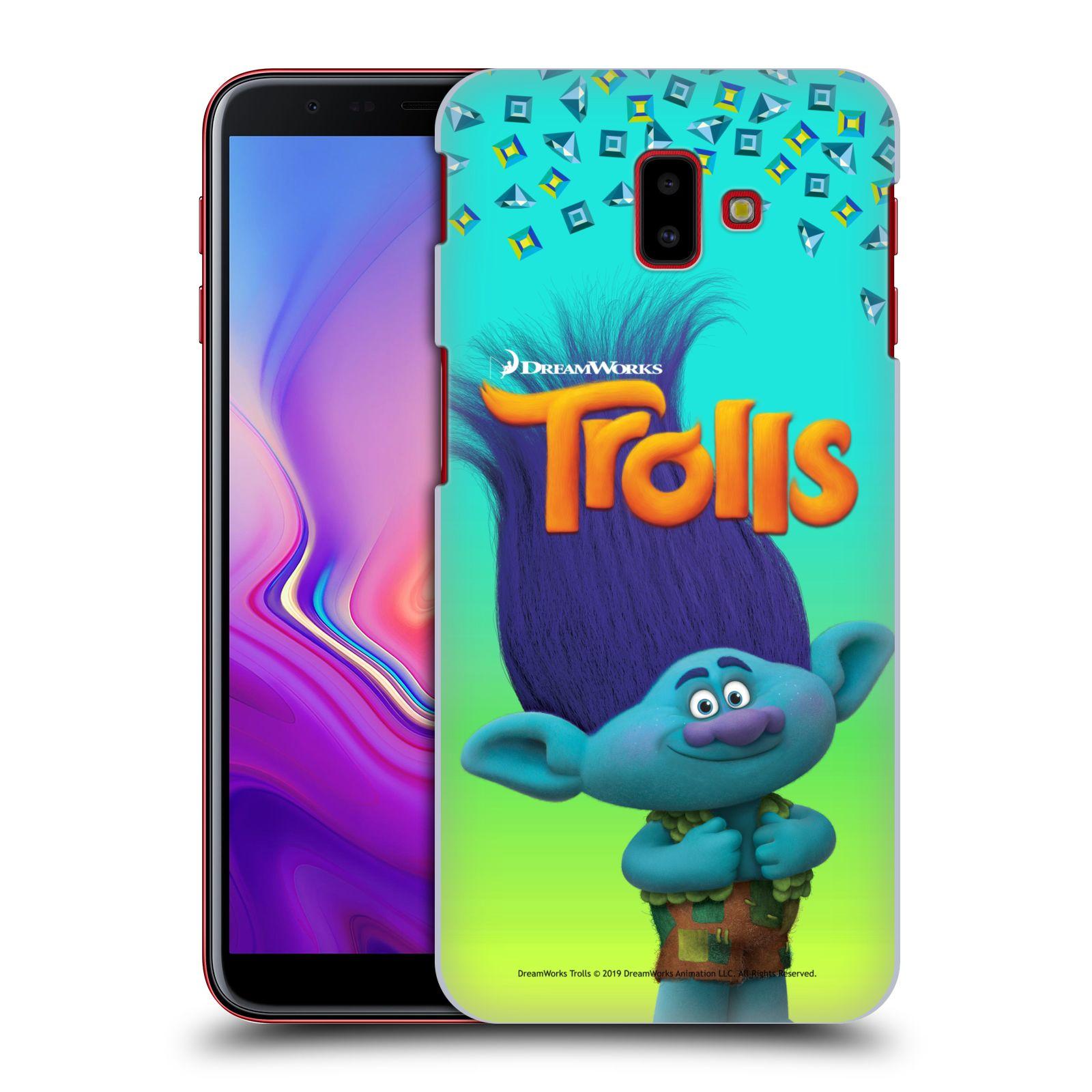 Pouzdro na mobil Samsung Galaxy J6+ - HEAD CASE - Pohádka - Trollové skřítek Branch