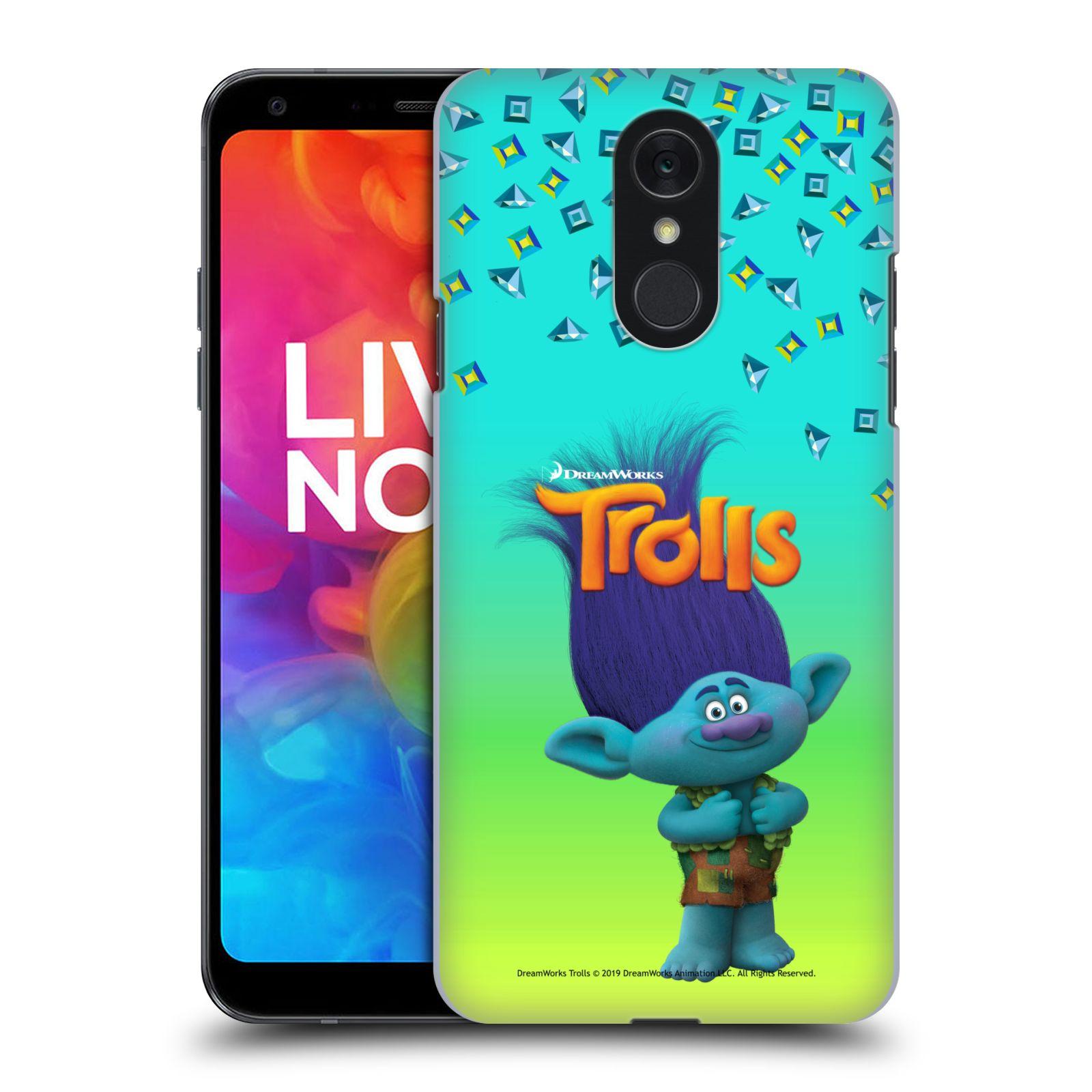 Pouzdro na mobil LG Q7 - HEAD CASE - Pohádka - Trollové skřítek Branch
