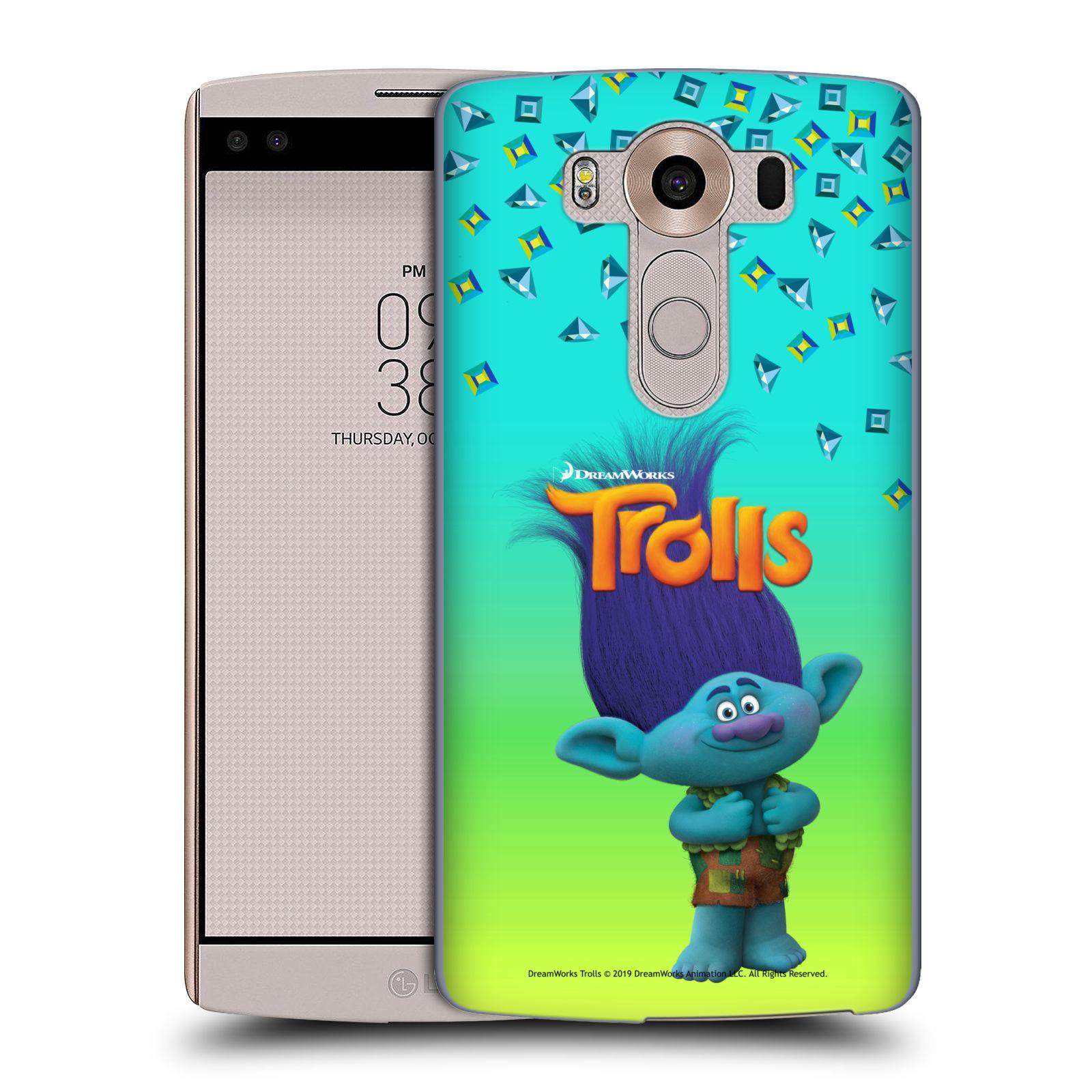 Pouzdro na mobil LG V10 - HEAD CASE - Pohádka - Trollové skřítek Branch