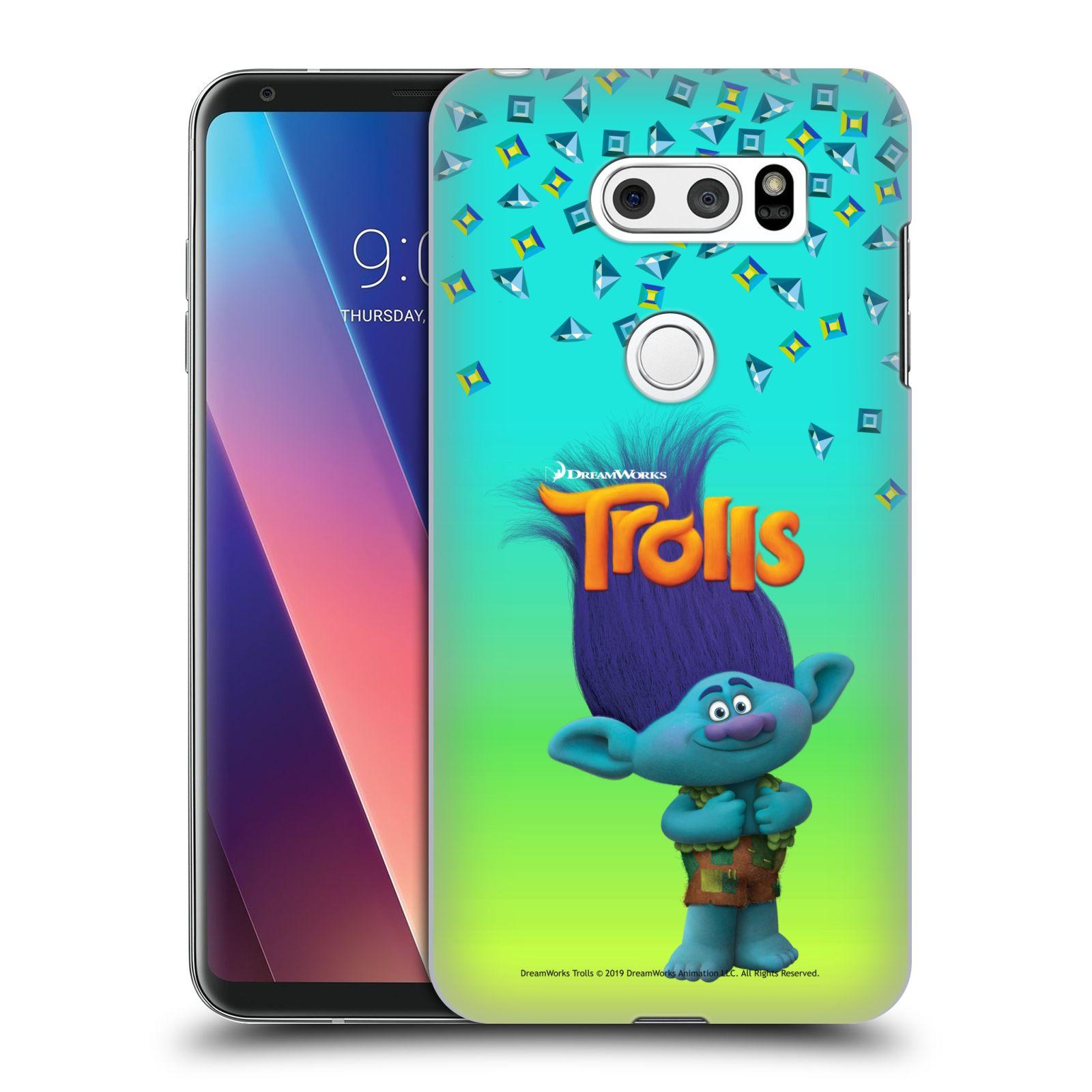 Pouzdro na mobil LG V30 - HEAD CASE - Pohádka - Trollové skřítek Branch