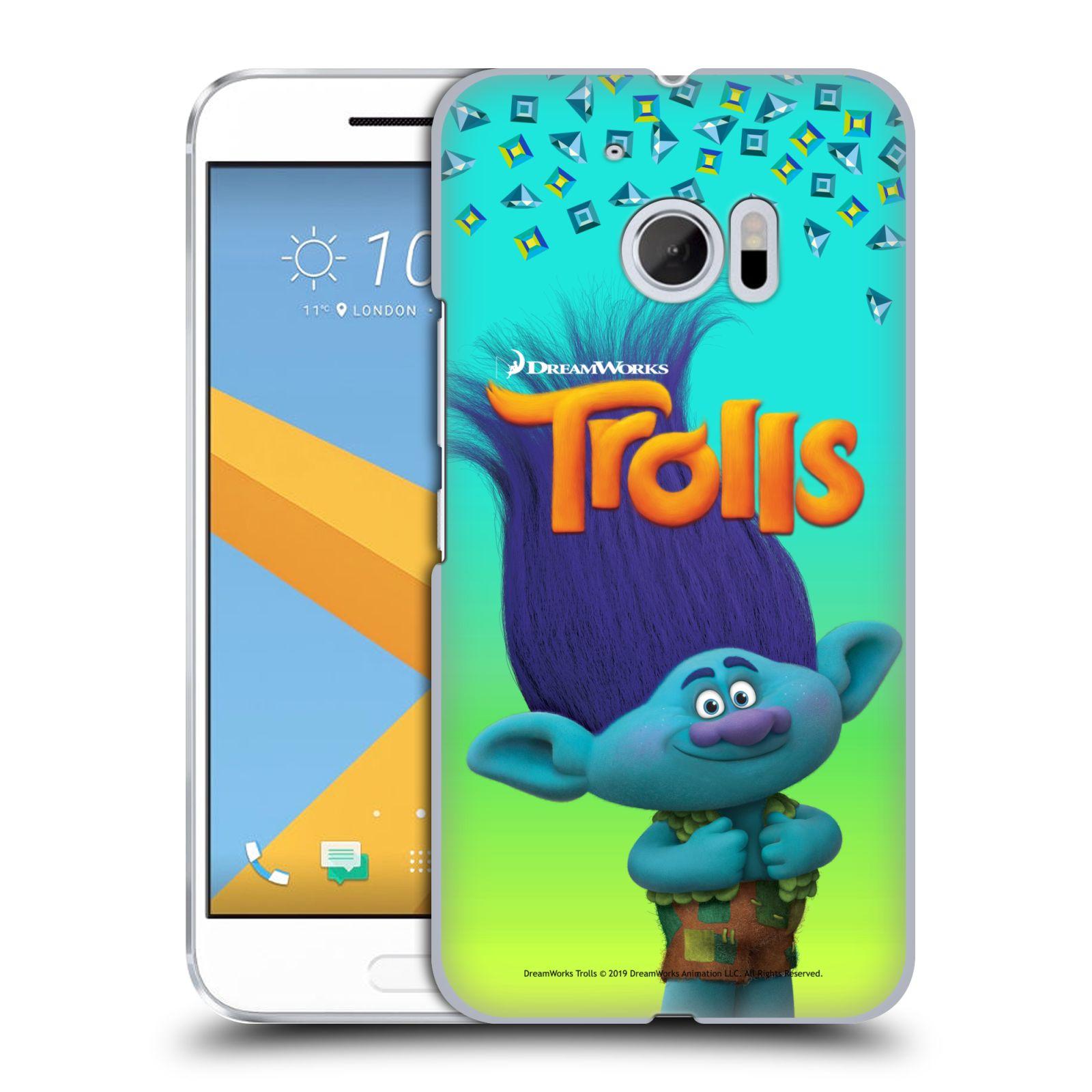 Pouzdro na mobil HTC 10 - HEAD CASE - Pohádka - Trollové skřítek Branch