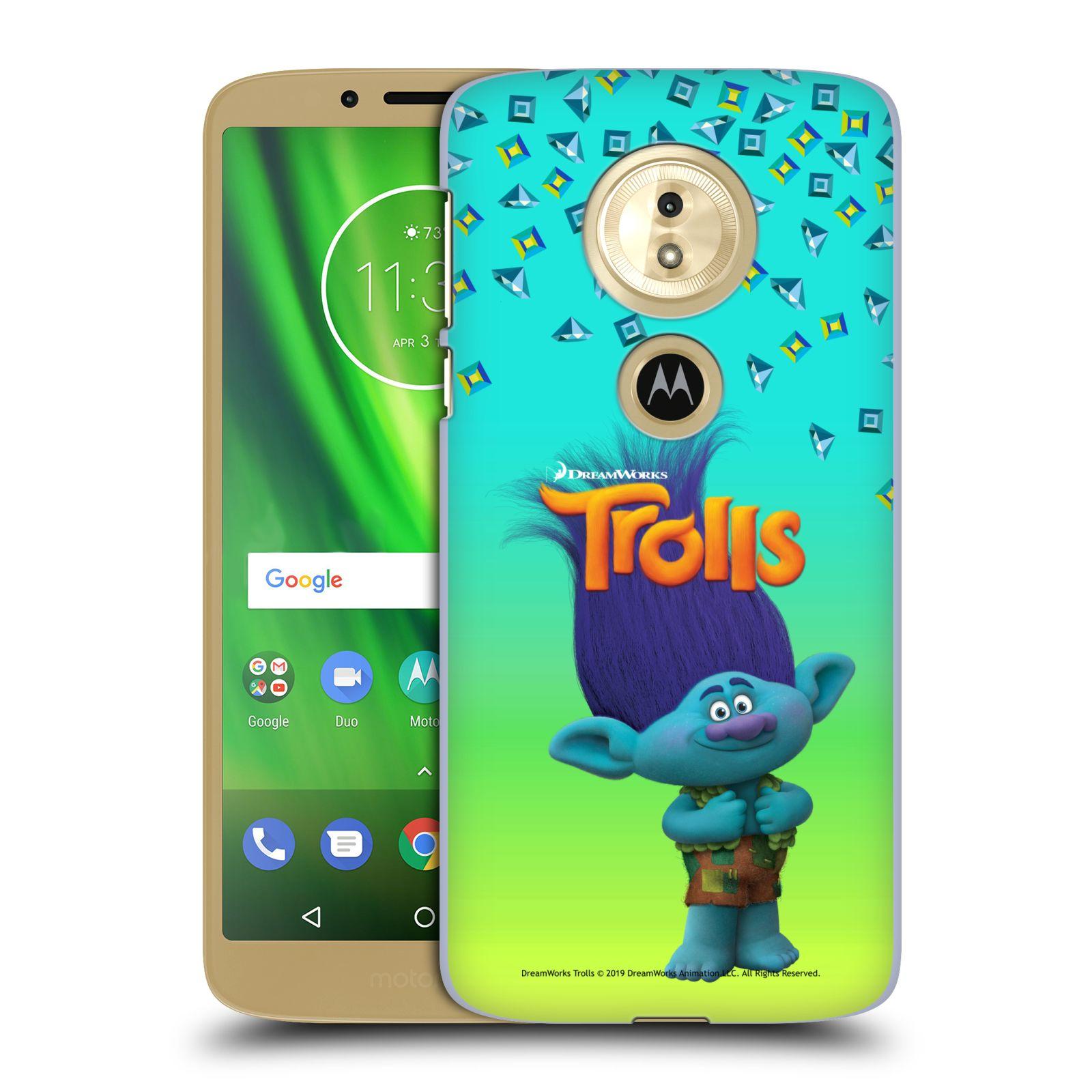 Pouzdro na mobil Motorola Moto E5 - HEAD CASE - Pohádka - Trollové skřítek Branch