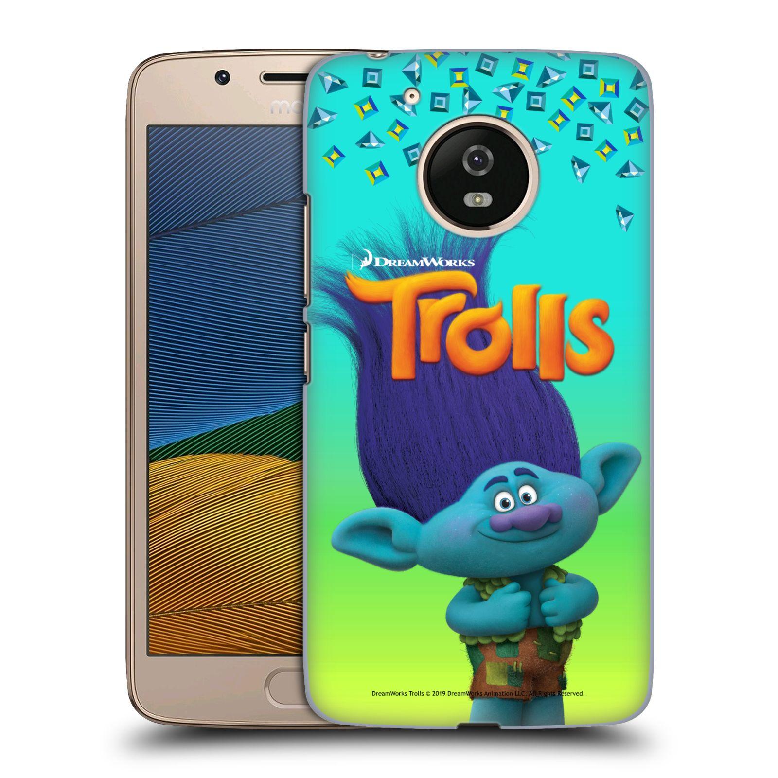 Pouzdro na mobil Lenovo Moto G5 - HEAD CASE - Pohádka - Trollové skřítek Branch
