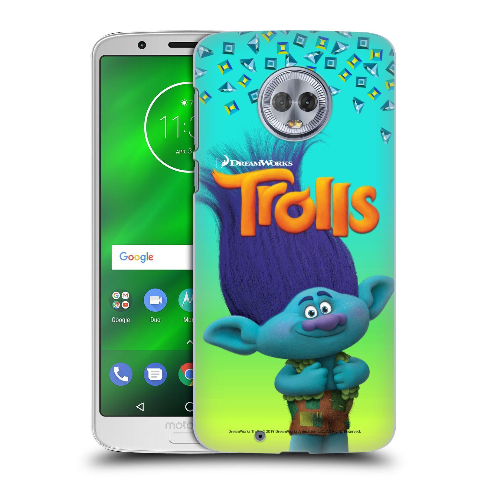 Pouzdro na mobil Motorola Moto G6 - HEAD CASE - Pohádka - Trollové skřítek Branch