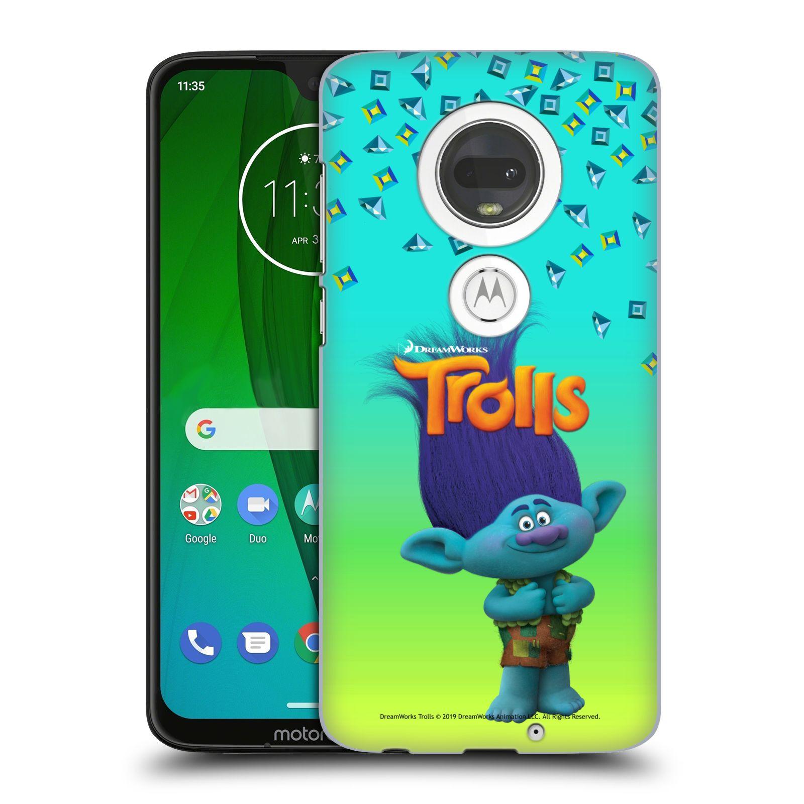Pouzdro na mobil Motorola Moto G7 - HEAD CASE - Pohádka - Trollové skřítek Branch