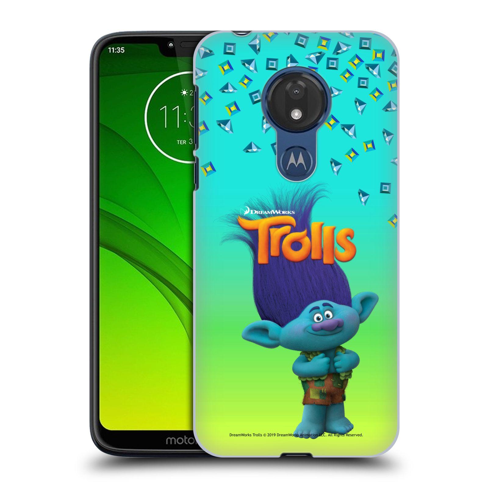 Pouzdro na mobil Motorola Moto G7 POWER - HEAD CASE - Pohádka - Trollové skřítek Branch