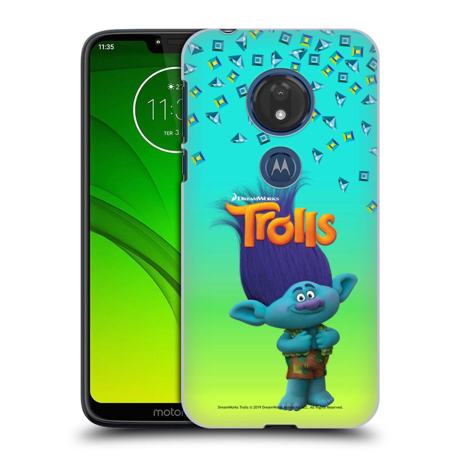 Pouzdro na mobil Motorola Moto G7 Play - HEAD CASE - Pohádka - Trollové skřítek Branch