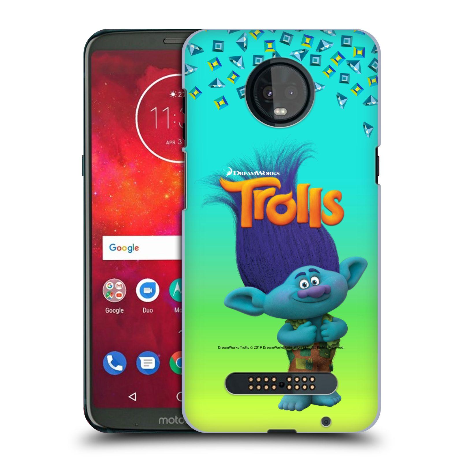 Pouzdro na mobil Motorola Moto Z3 PLAY - HEAD CASE - Pohádka - Trollové skřítek Branch