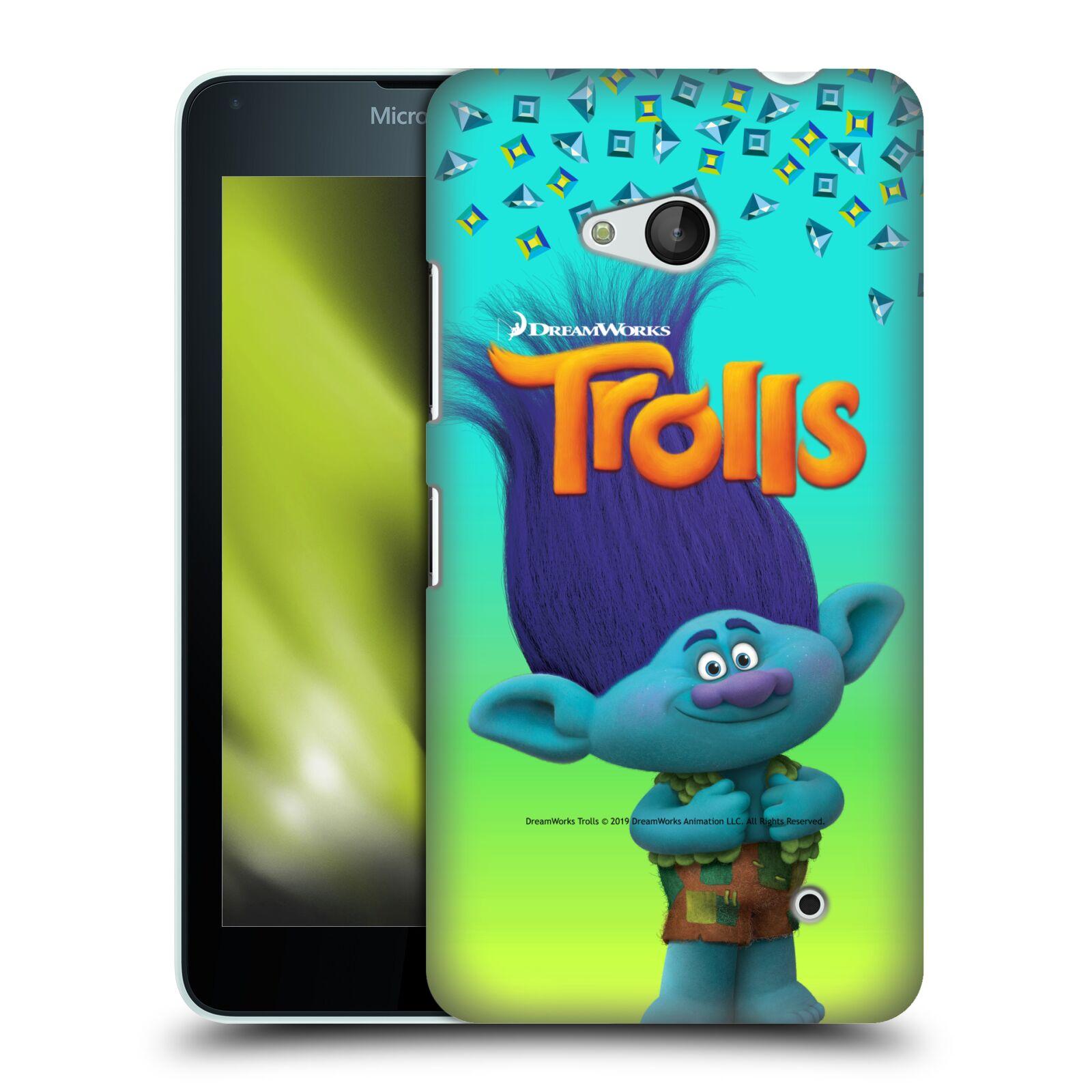 Pouzdro na mobil Microsoft Lumia 640 / 640 DUAL SIM - HEAD CASE - Pohádka - Trollové skřítek Branch