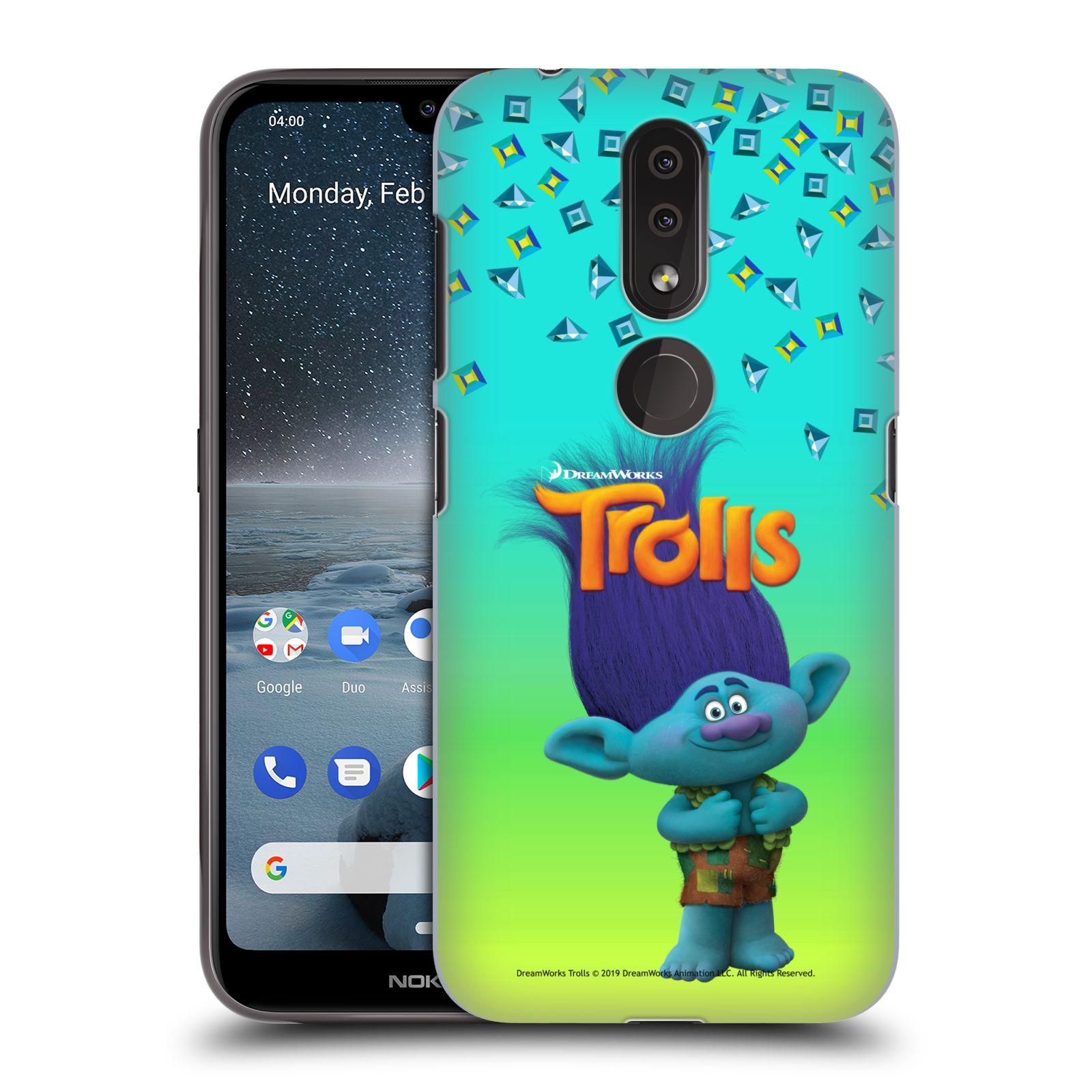 Pouzdro na mobil Nokia 4.2 - HEAD CASE - Pohádka - Trollové skřítek Branch