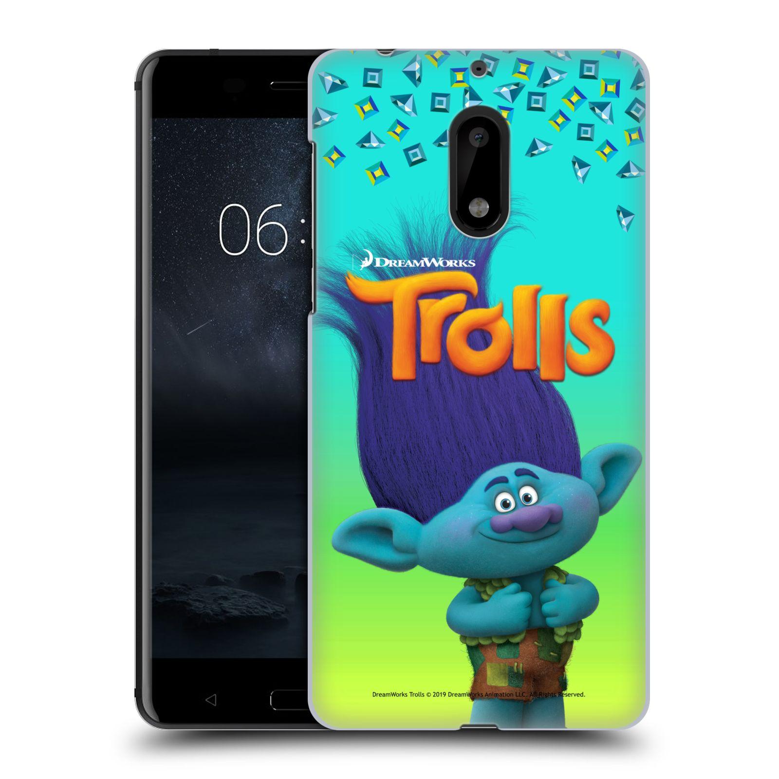 Pouzdro na mobil Nokia 6 - HEAD CASE - Pohádka - Trollové skřítek Branch
