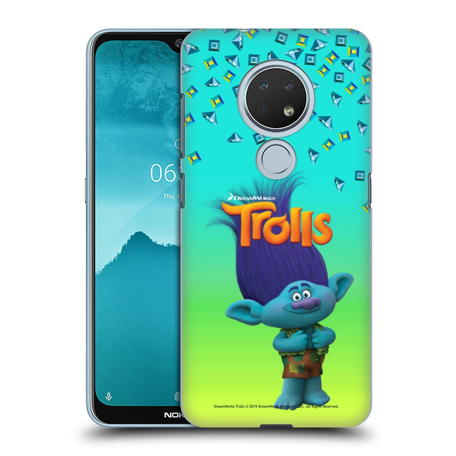 Pouzdro na mobil Nokia 6.2 - HEAD CASE - Pohádka - Trollové skřítek Branch