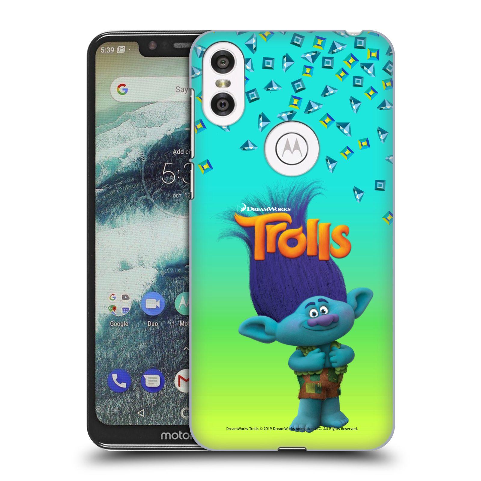 Pouzdro na mobil Motorola Moto ONE - HEAD CASE - Pohádka - Trollové skřítek Branch