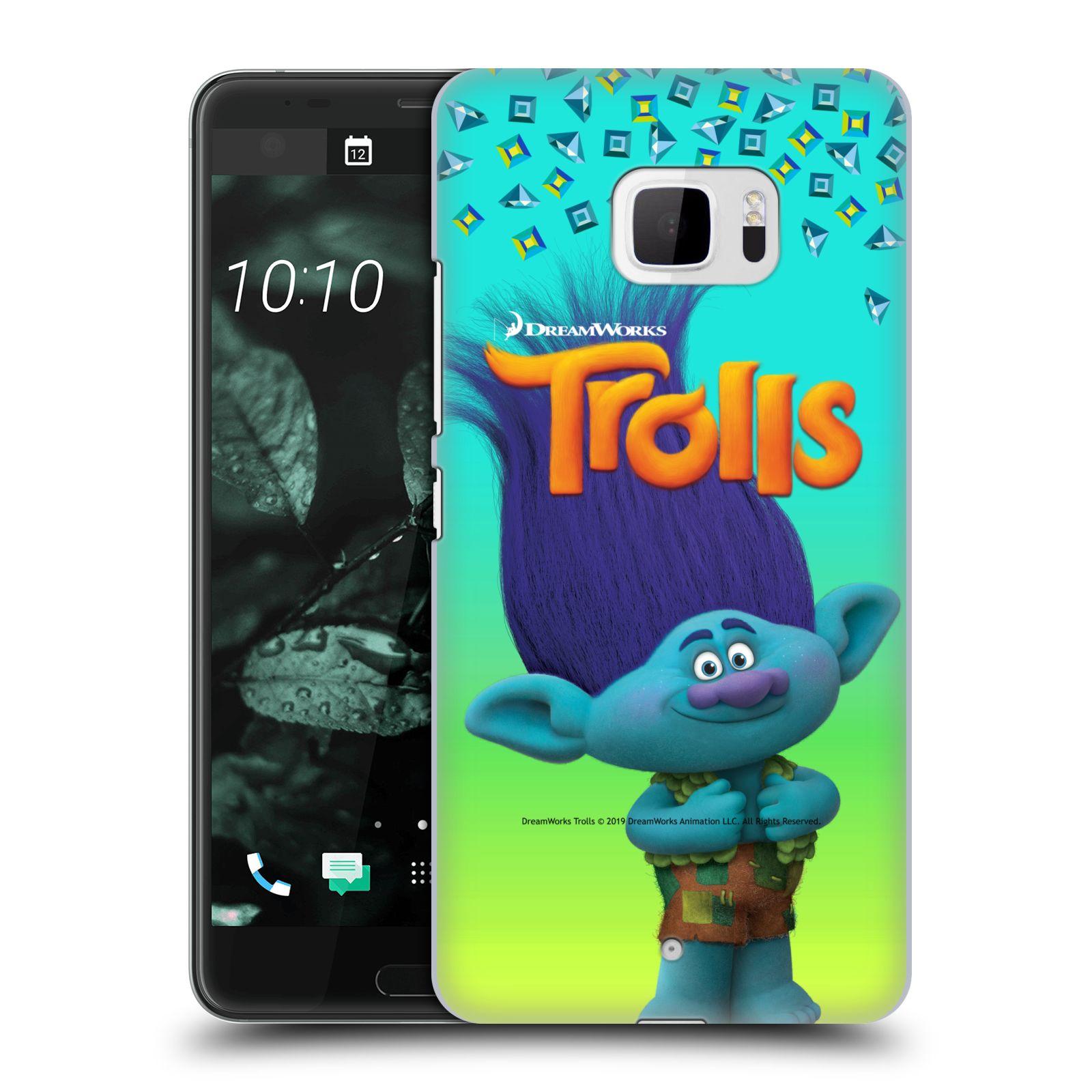 Pouzdro na mobil HTC U Ultra - HEAD CASE - Pohádka - Trollové skřítek Branch