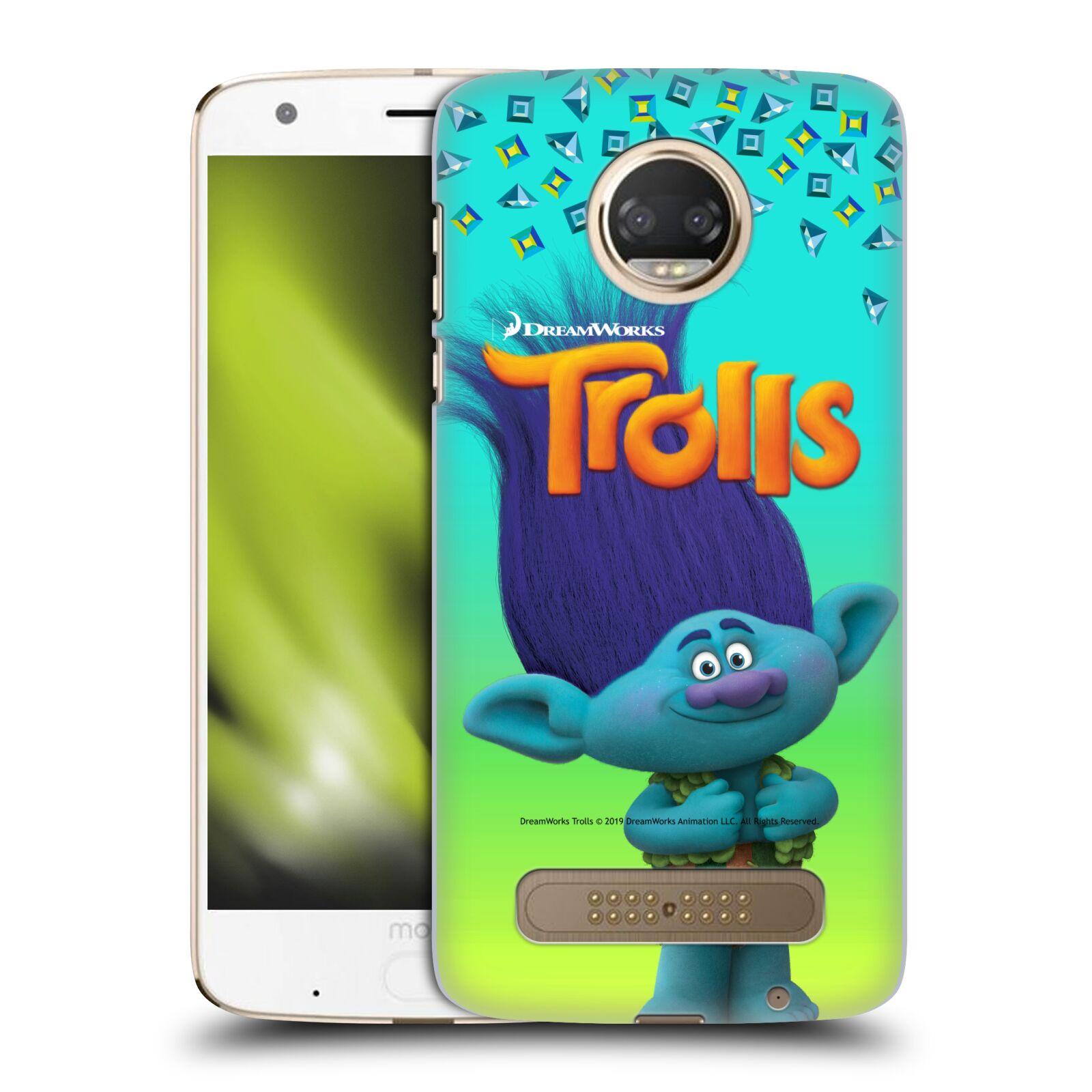 Pouzdro na mobil Motorola Moto Z2 PLAY - HEAD CASE - Pohádka - Trollové skřítek Branch