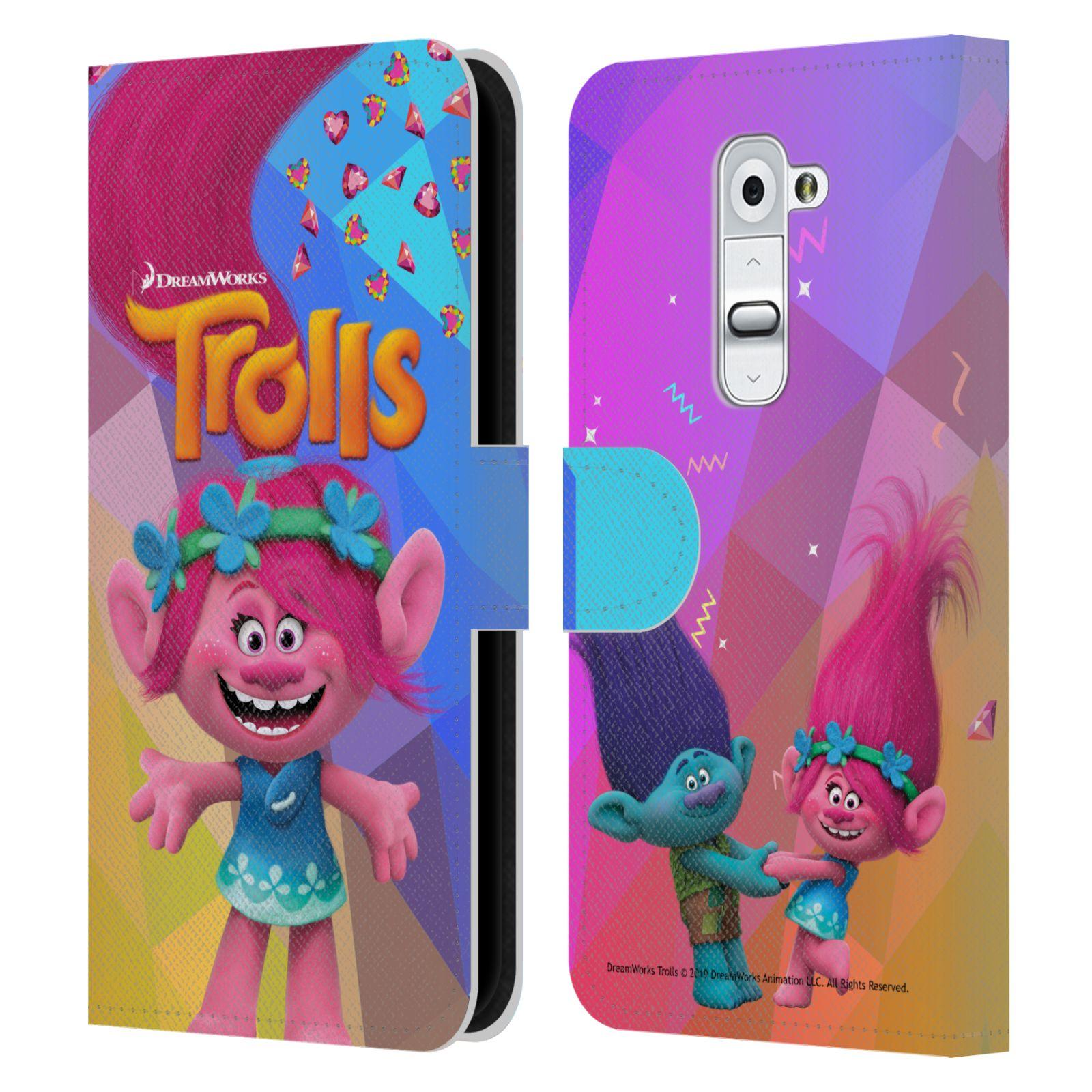 Pouzdro na mobil LG G2 - Head Case - Trollové - holčička Poppy