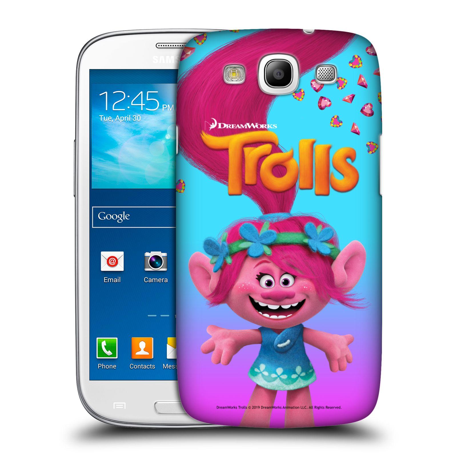 Pouzdro na mobil Samsung Galaxy S3 - HEAD CASE - Pohádka - Trollové skřítek holčička Poppy