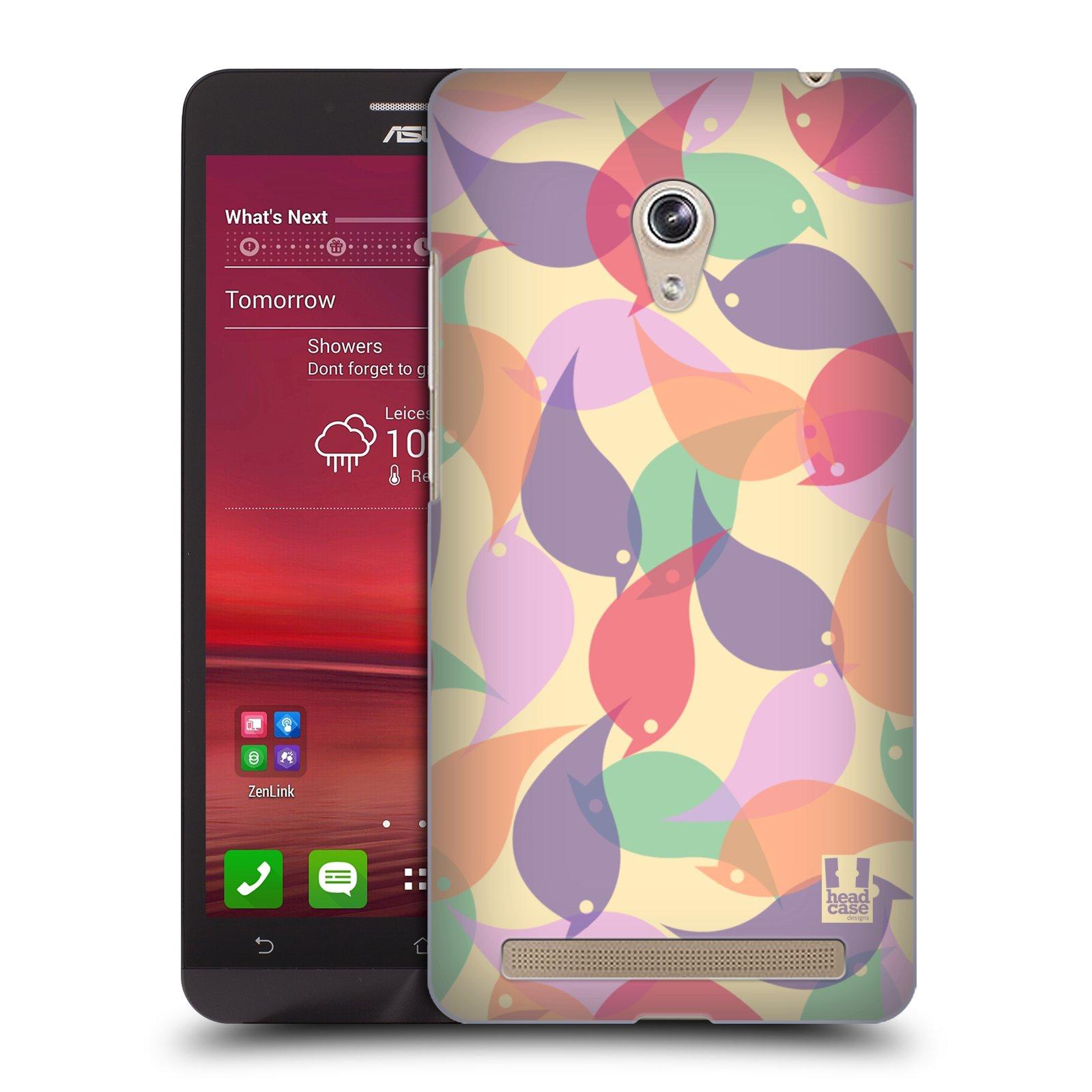 HEAD CASE plastový obal na mobil Asus Zenfone 6 vzor Vzorkovaná malba PTÁČCI
