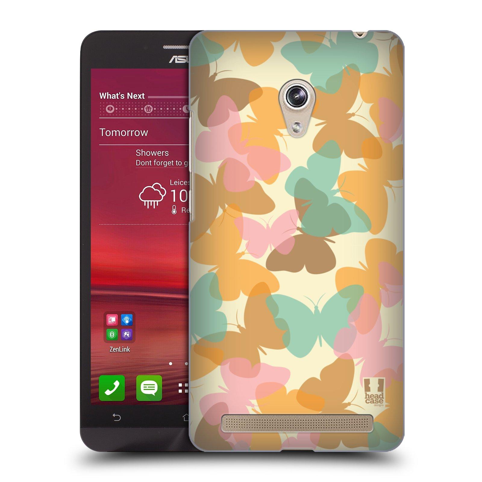 HEAD CASE plastový obal na mobil Asus Zenfone 6 vzor Vzorkovaná malba MOTÝL