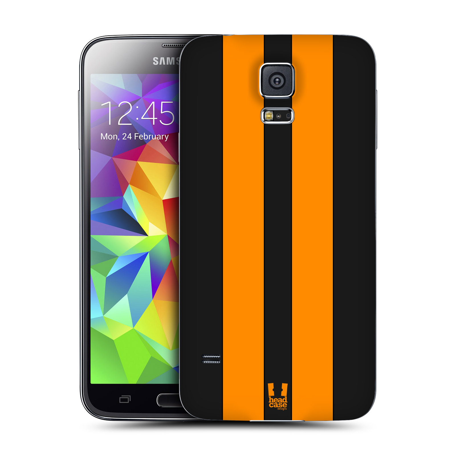 itm HEAD CASE TRANSPORT PAINTS REPLACEMENT BATTERY BACK COVER FOR SAMSUNG GALAXY S