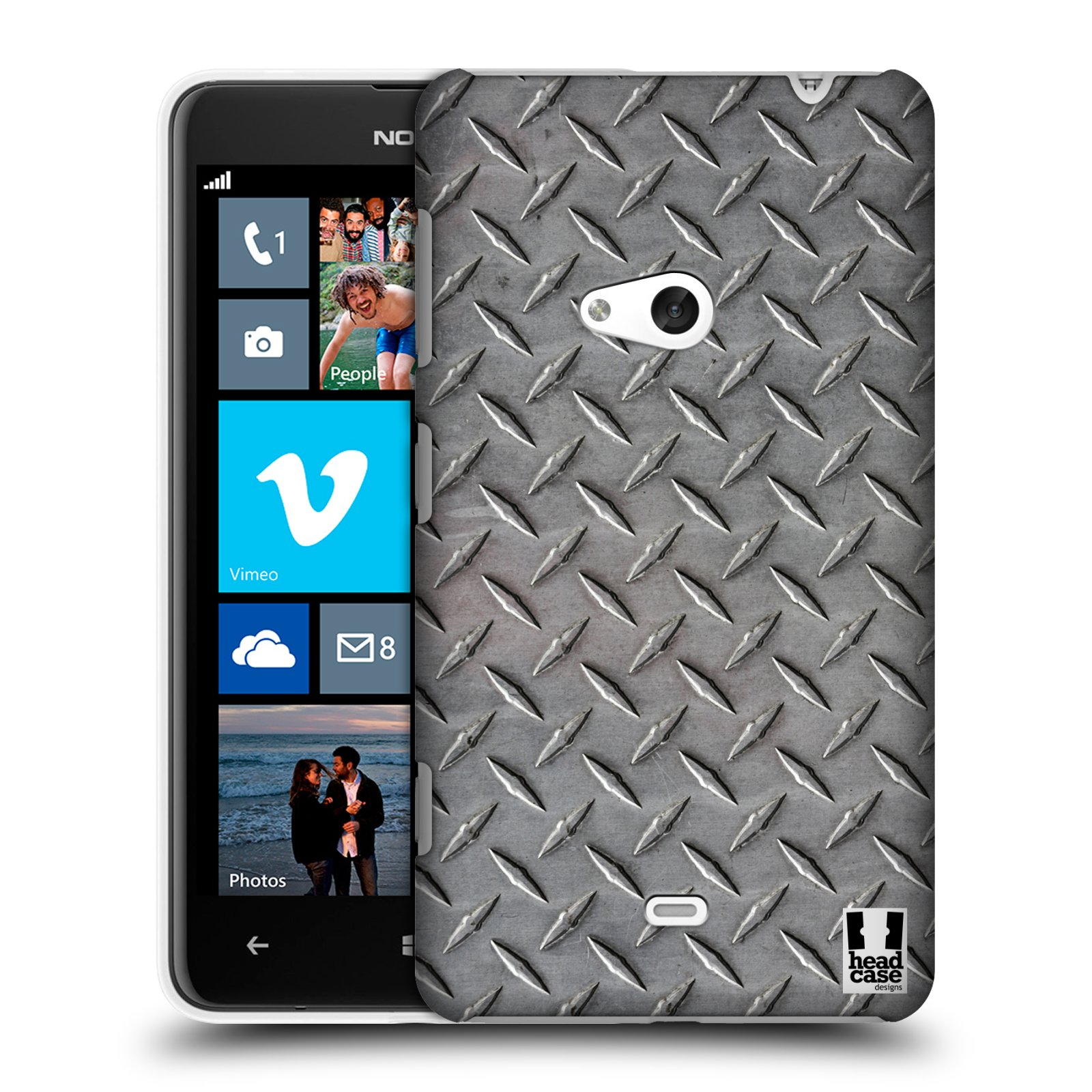 HEAD CASE DESIGNS TRANSPORT PAINT CASE COVER FOR NOKIA LUMIA 625