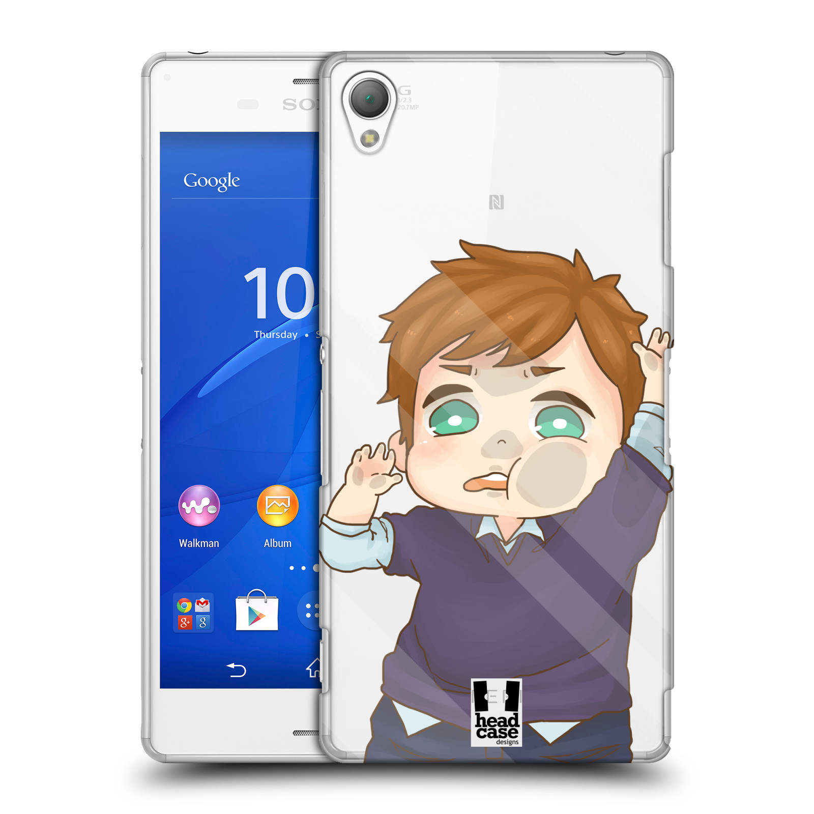 HEAD-CASE-DESIGNS-TRAPPED-INSIDE-HARD-BACK-CASE-FOR-SONY-PHONES-1