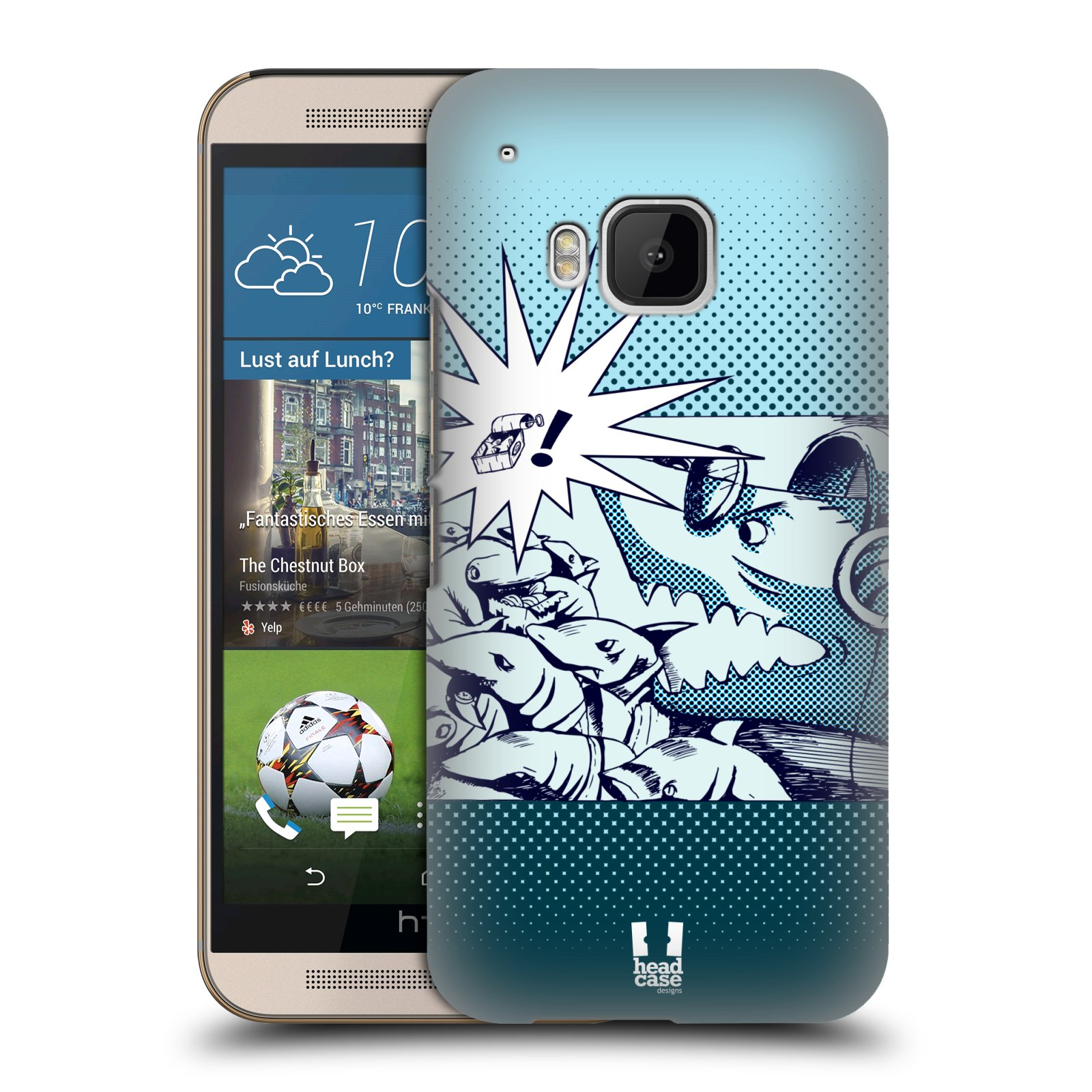 HEAD CASE TROPIC IN THE STREETS BACK CASE FOR HTC ONE M9