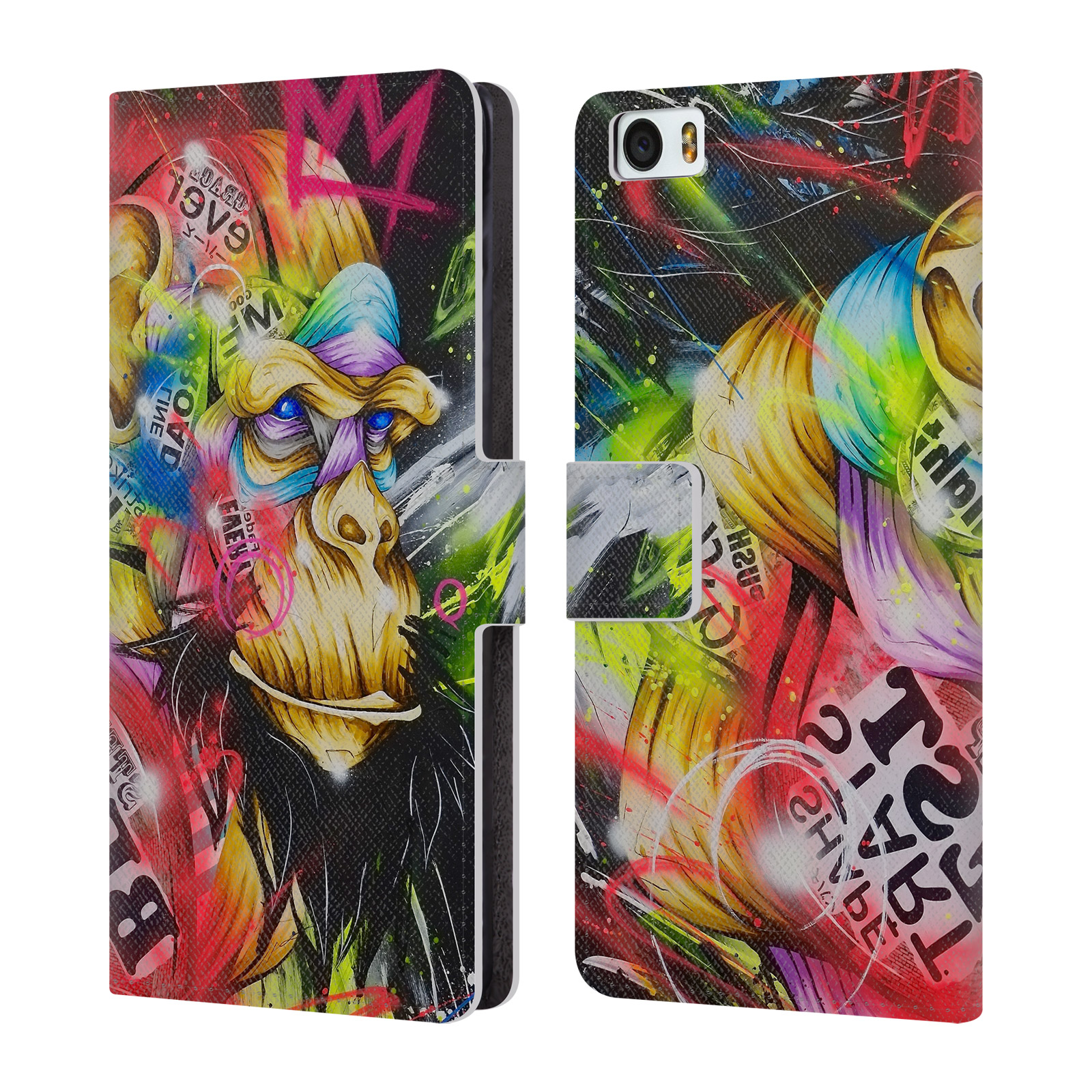 OFFICIAL-TAKA-SUDO-PRIMATES-LEATHER-BOOK-WALLET-CASE-COVER-FOR-XIAOMI-PHONES