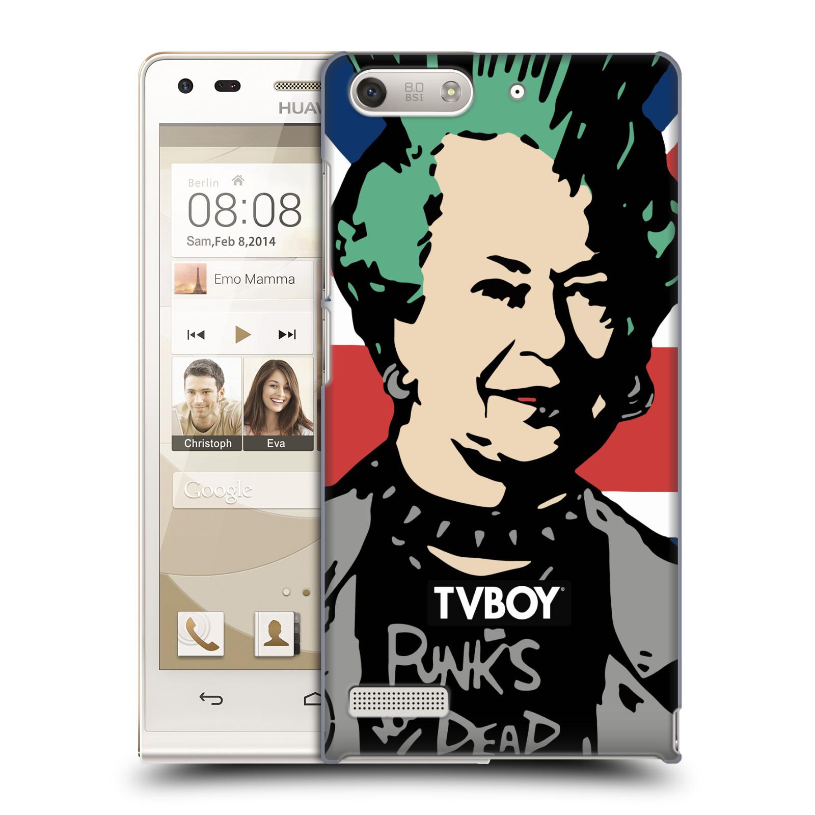 Plastové pouzdro na mobil Huawei Ascend G6 HEAD CASE - TVBOY - Punková Královna (Kryt či obal na mobilní telefon s licencovaným motivem TVBOY pro Huawei Ascend G6 bez LTE)