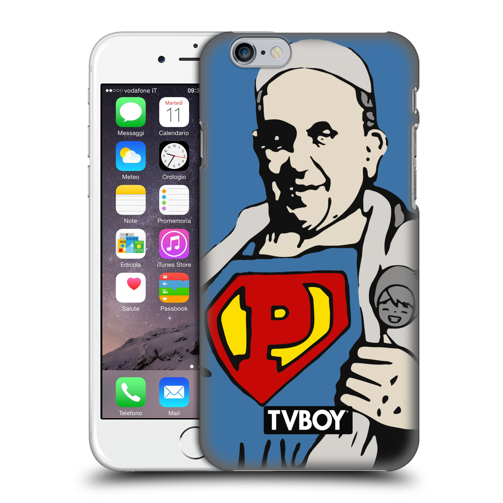 TVBOY Urban Celebrities-Super Pope
