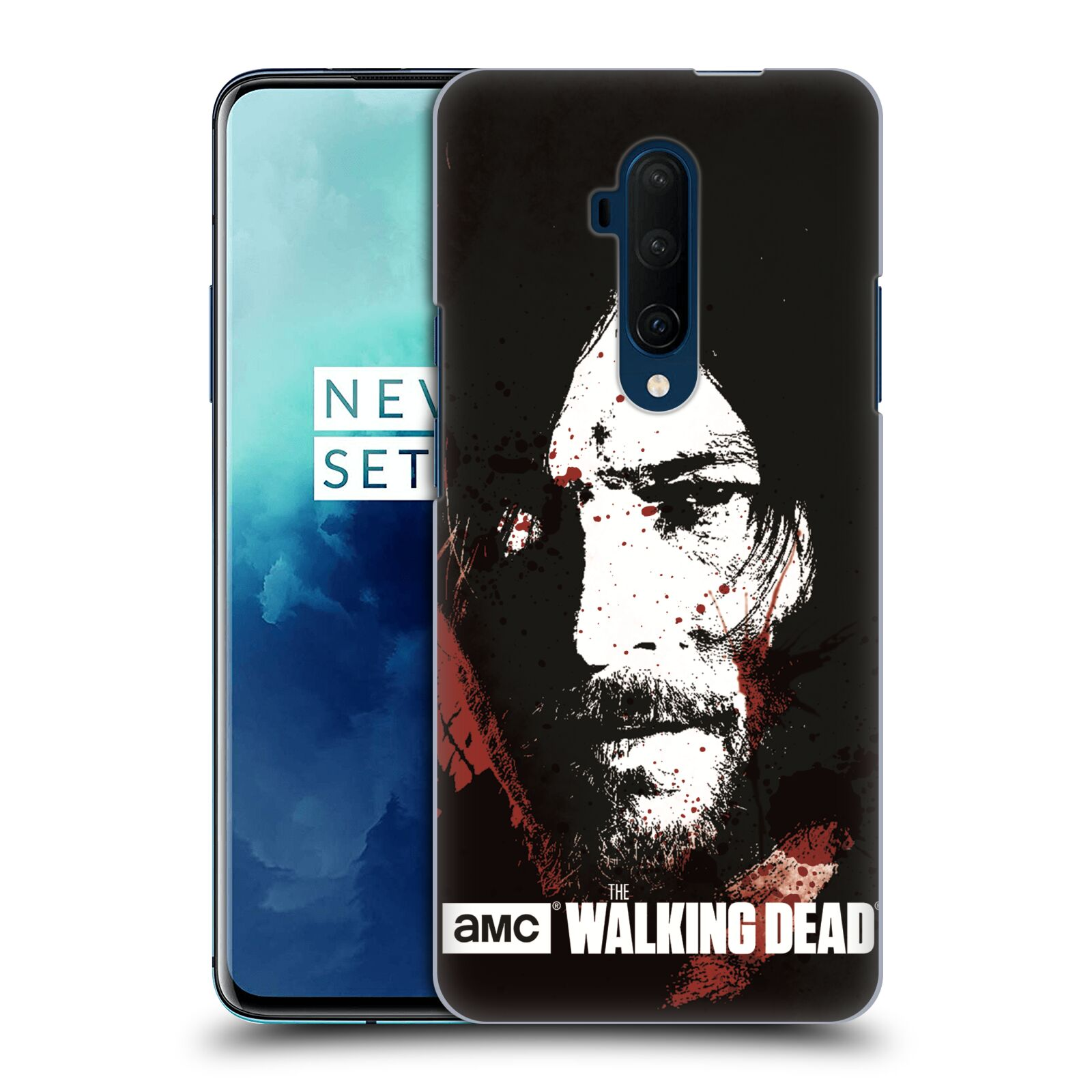Pouzdro na mobil OnePlus 7T Pro - HEAD CASE - Walking Dead - Daryl kresba
