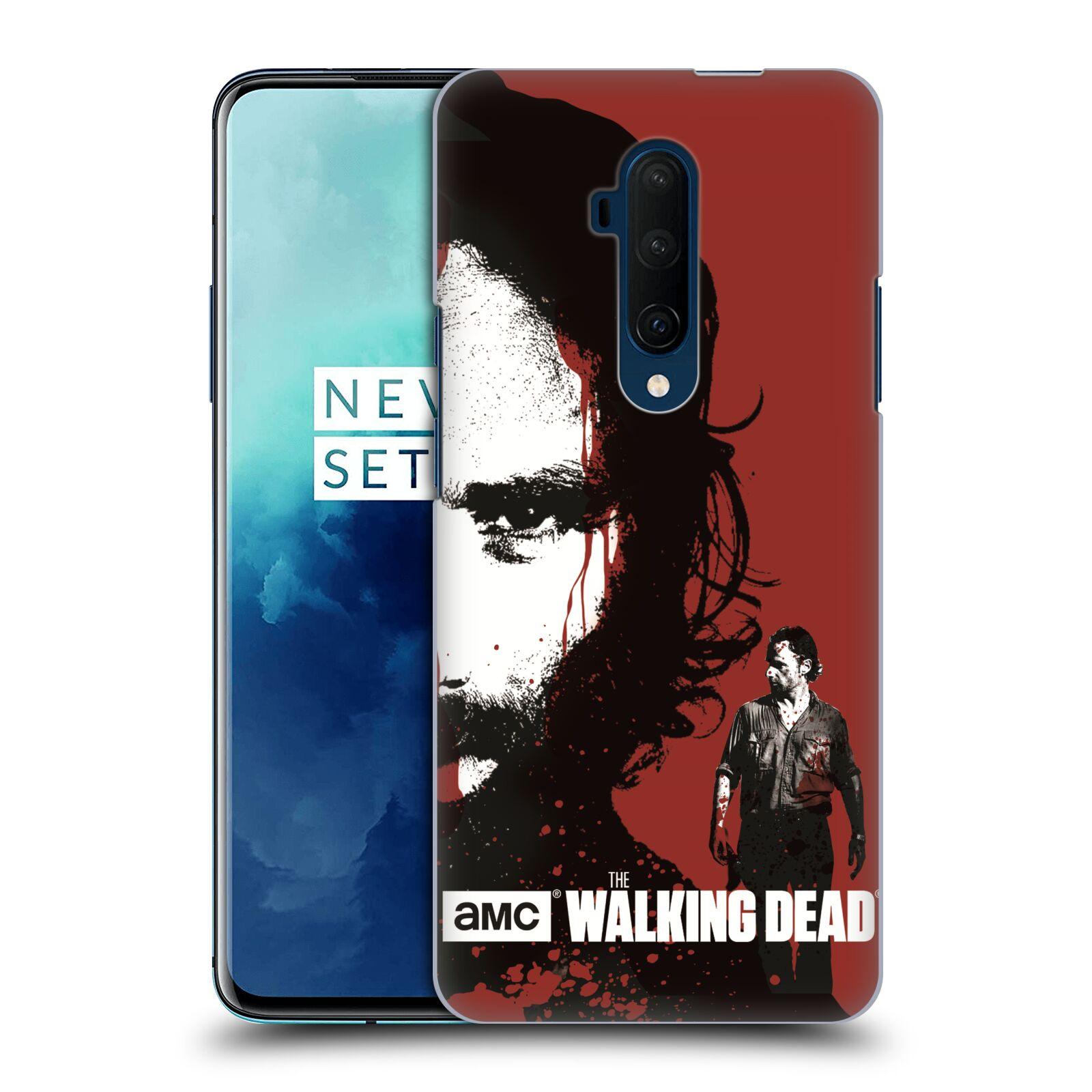Pouzdro na mobil OnePlus 7T Pro - HEAD CASE - Walking Dead - Rick kresba