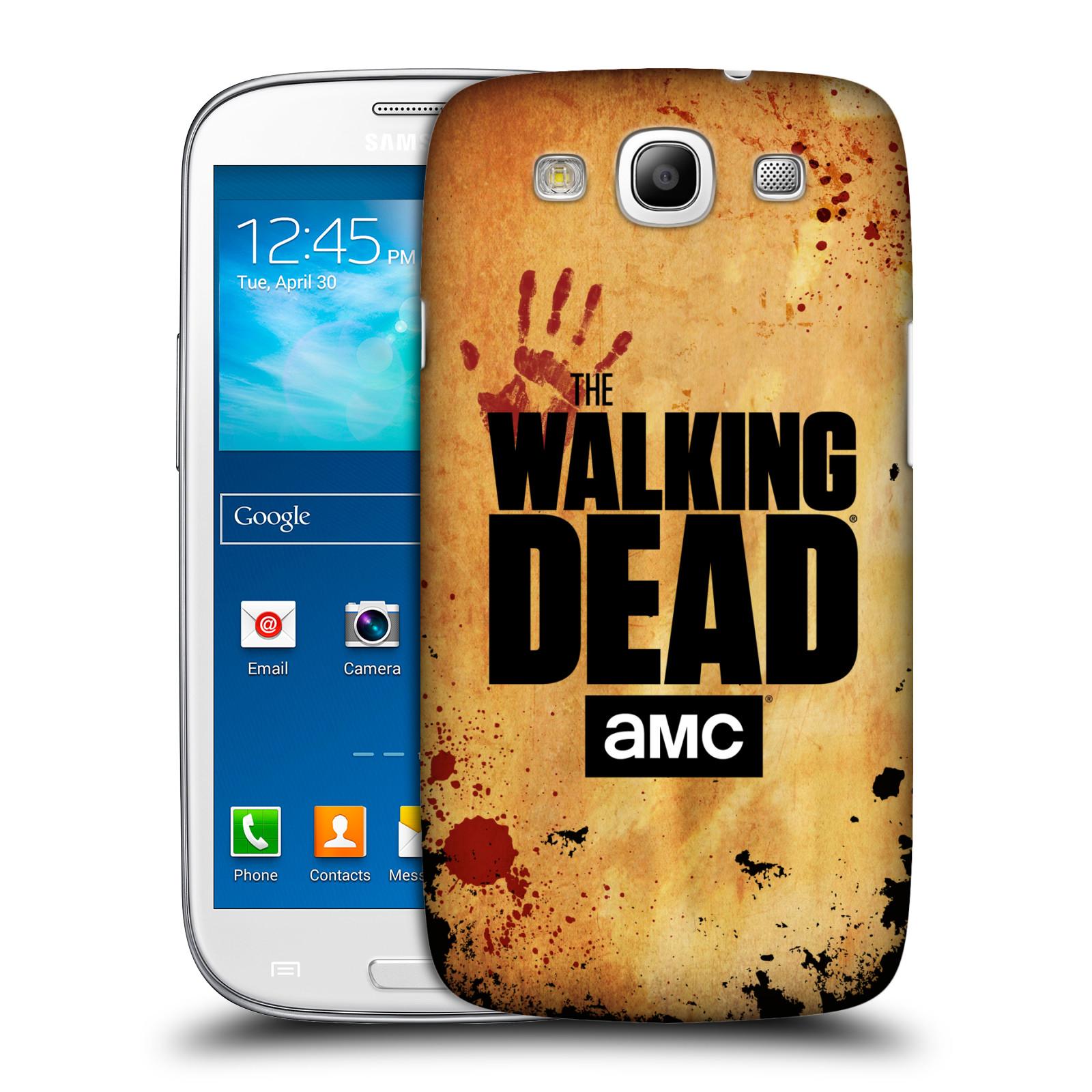 Pouzdro na mobil Samsung Galaxy S3 - HEAD CASE - Živí Mrtví Logo