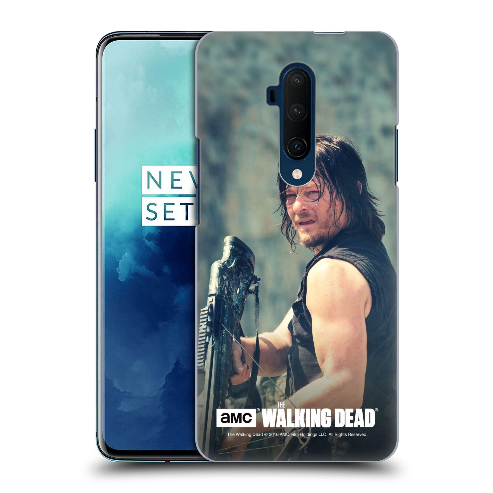 Pouzdro na mobil OnePlus 7T Pro - HEAD CASE - Walking Dead - Daryl střelec