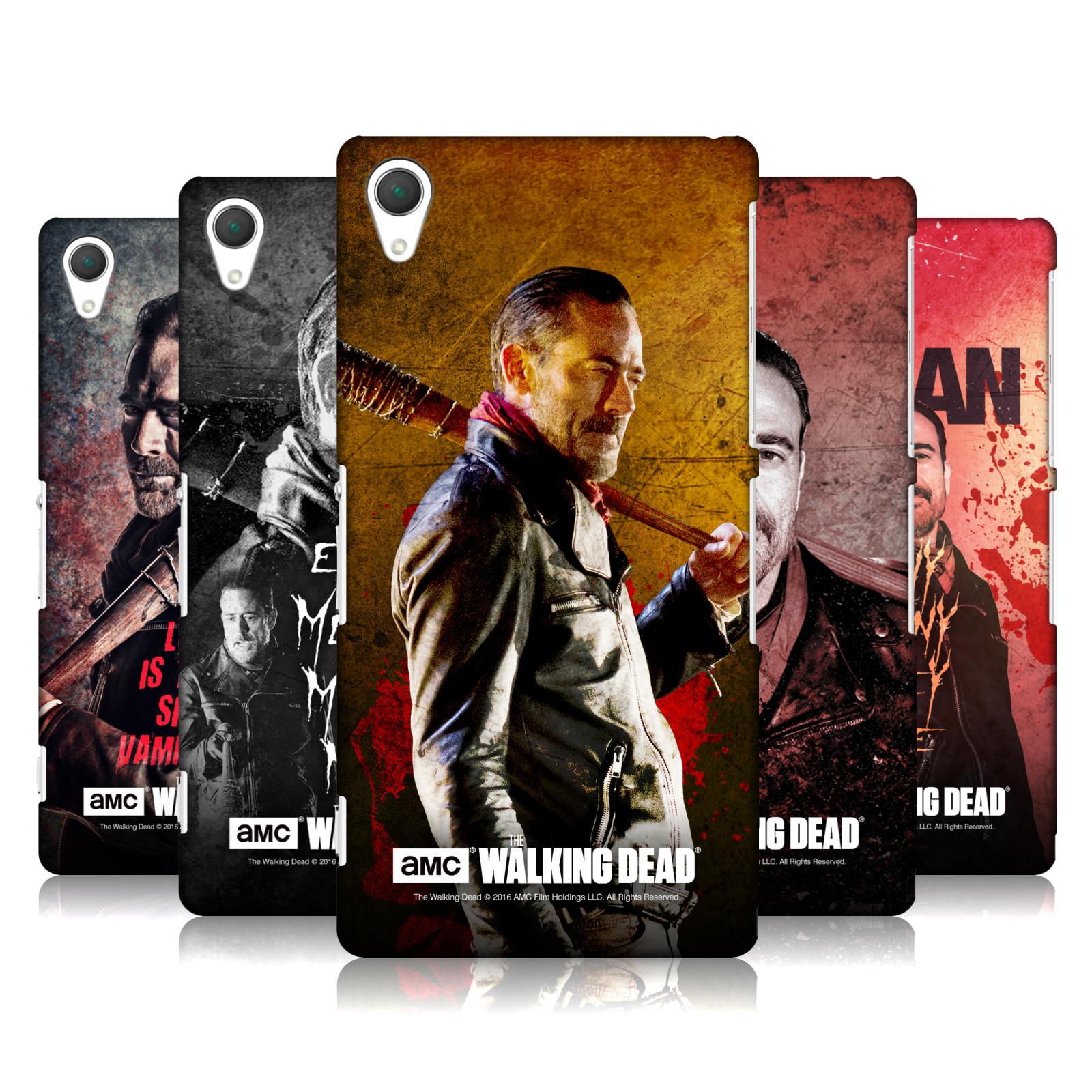 OFFICIAL-AMC-THE-WALKING-DEAD-NEGAN-HARD-BACK-CASE-FOR-SONY-PHONES-2