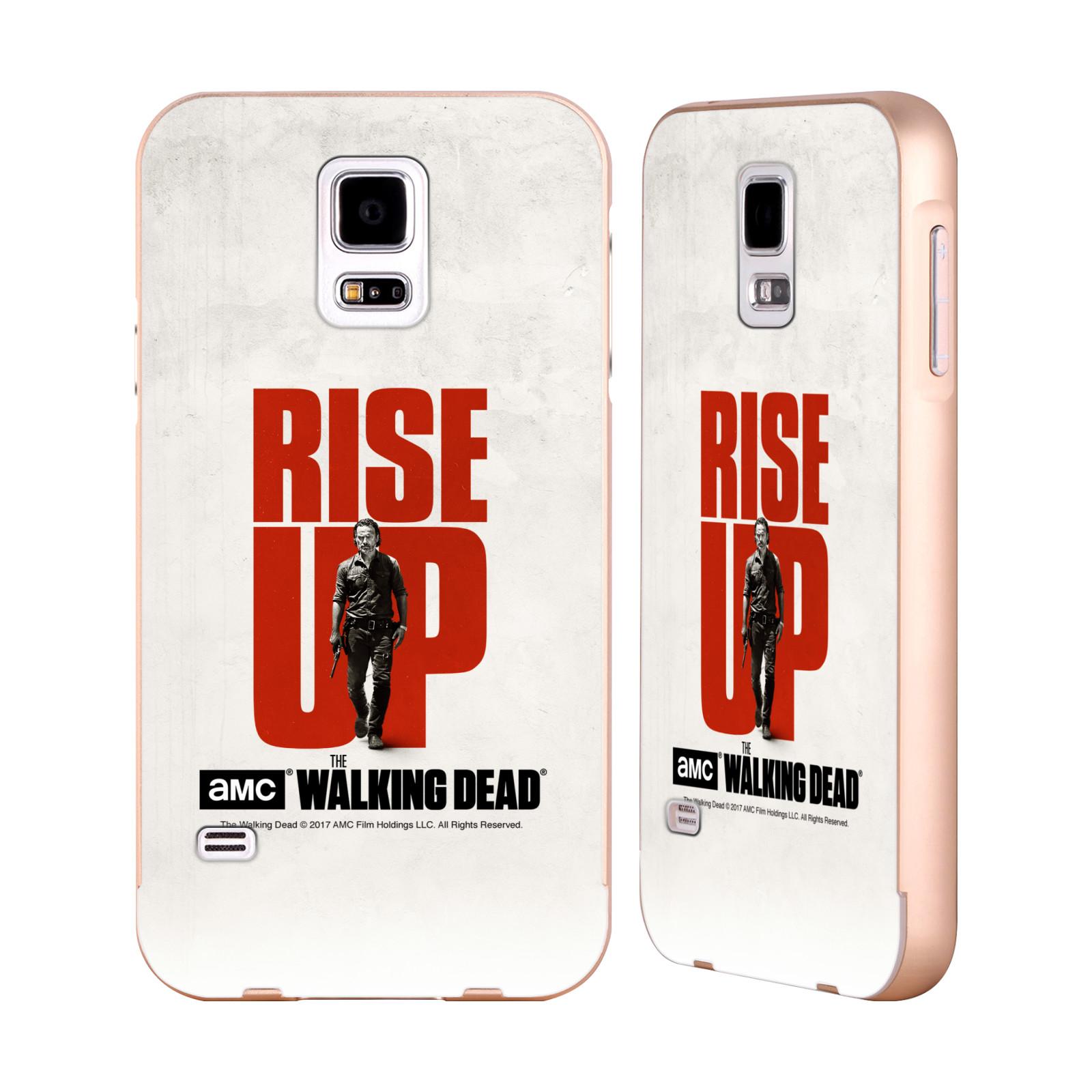 UFFICIALE-AMC-THE-WALKING-DEAD-ALZARSI-ORO-COVER-CONTORNO-PER-SAMSUNG-TELEFONI