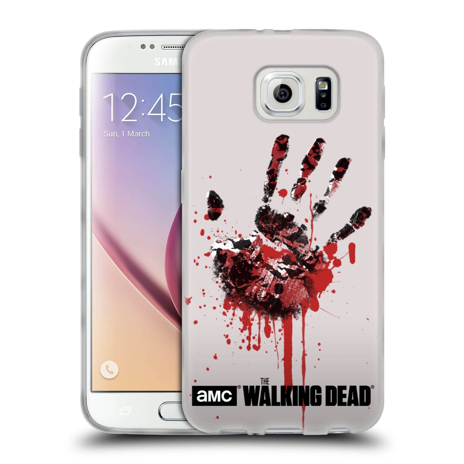 OFFICIAL AMC THE WALKING DEAD SILHOUETTES SOFT GEL CASE FOR SAMSUNG PHONES 1