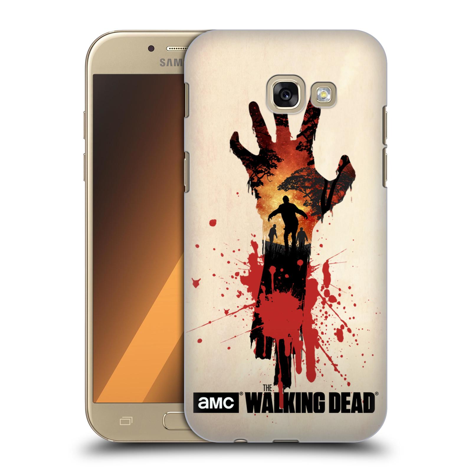 Pouzdro na mobil Samsung Galaxy A5 2017 (A520) - HEAD CASE - Živí Mrtví silueta ruky