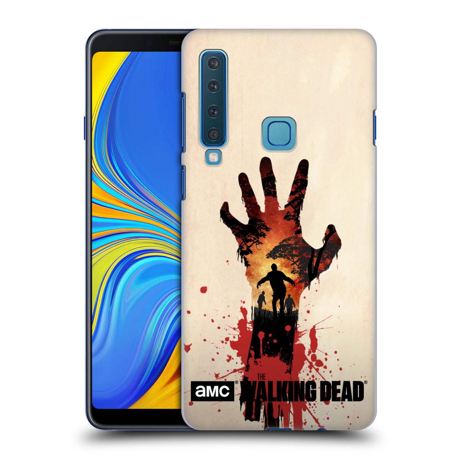 Pouzdro na mobil Samsung Galaxy A9 2018 - HEAD CASE - Živí Mrtví silueta ruky