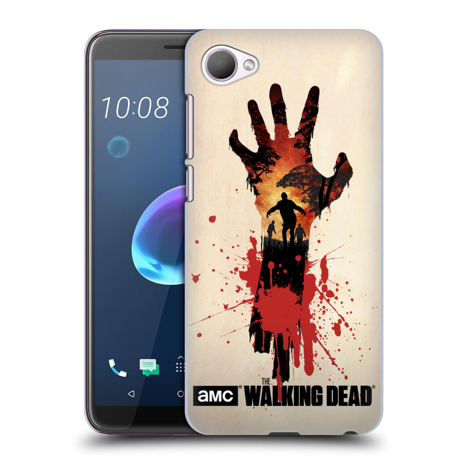 Pouzdro na mobil HTC Desire 12 / Desire 12 DUAL SIM - HEAD CASE - Živí Mrtví silueta ruky