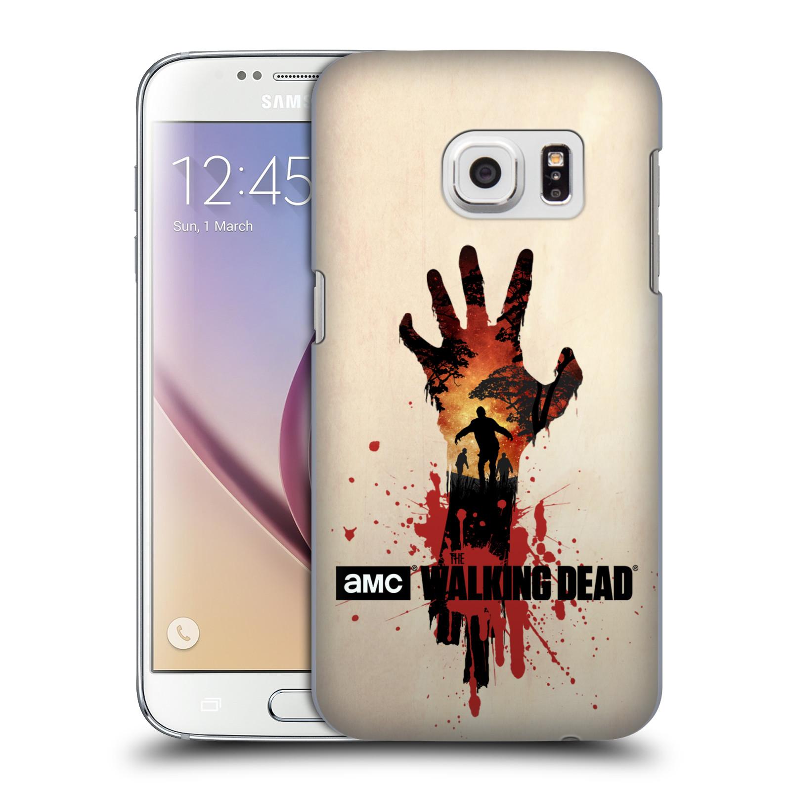 Pouzdro na mobil Samsung Galaxy S7 - HEAD CASE - Živí Mrtví silueta ruky