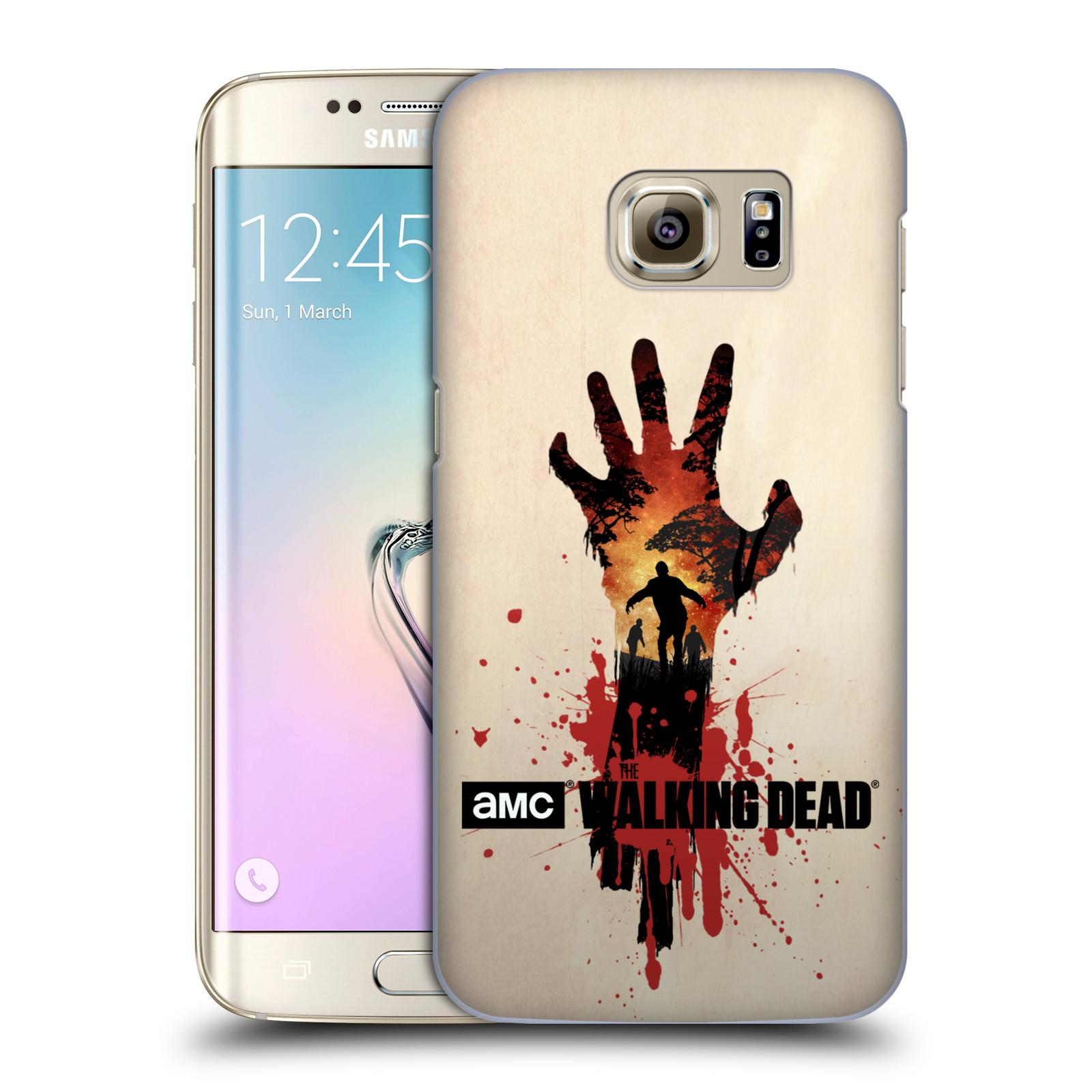 Pouzdro na mobil Samsung Galaxy S7 EDGE - HEAD CASE - Živí Mrtví silueta ruky