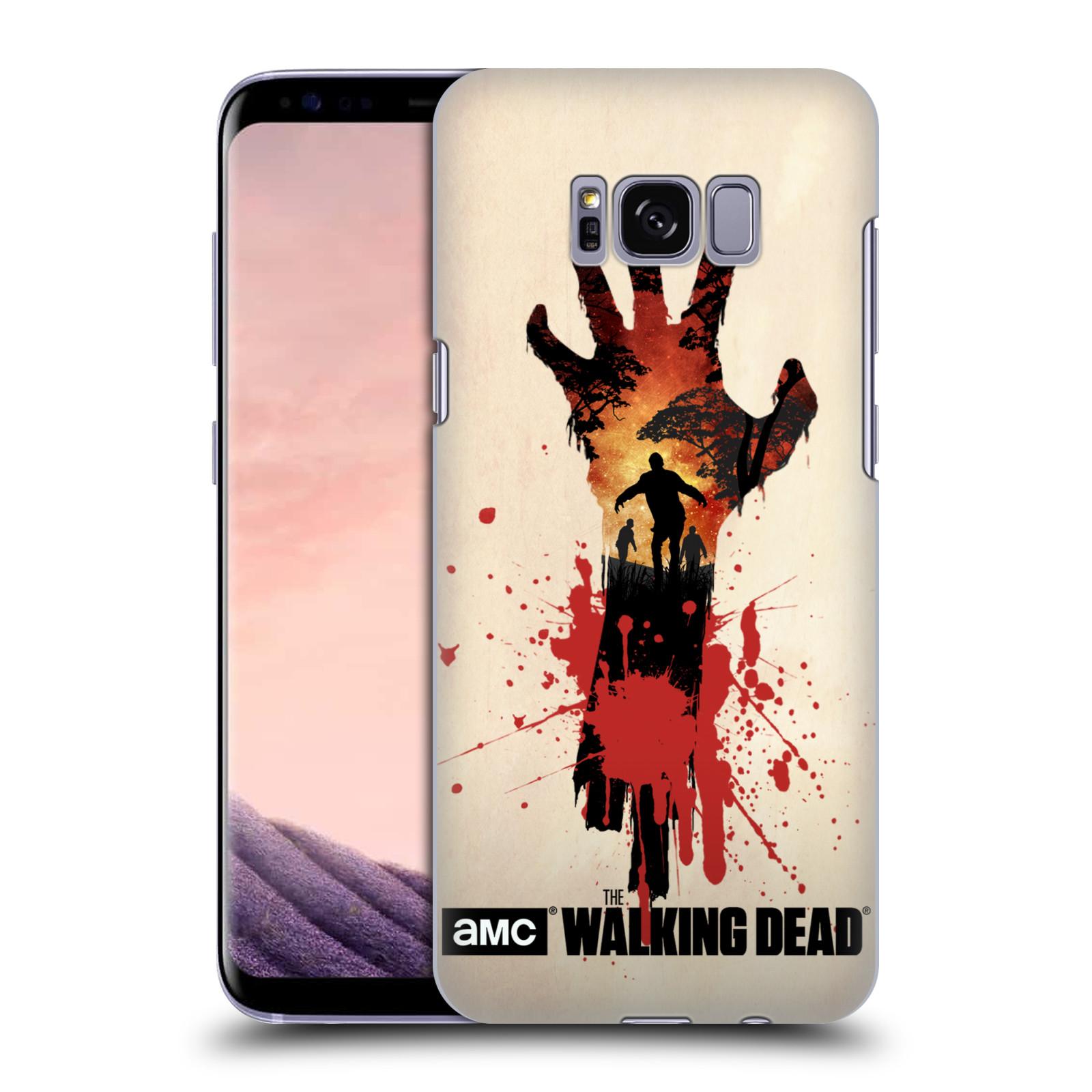 Pouzdro na mobil Samsung Galaxy S8 - HEAD CASE - Živí Mrtví silueta ruky